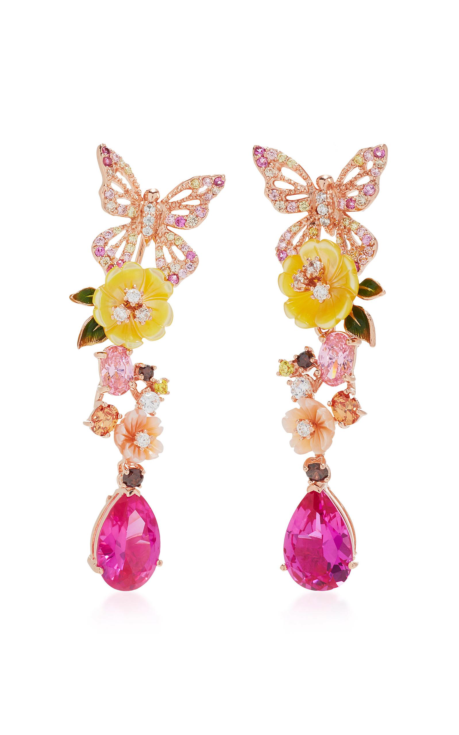 Women's Exclusive: Rose Vine Earrings