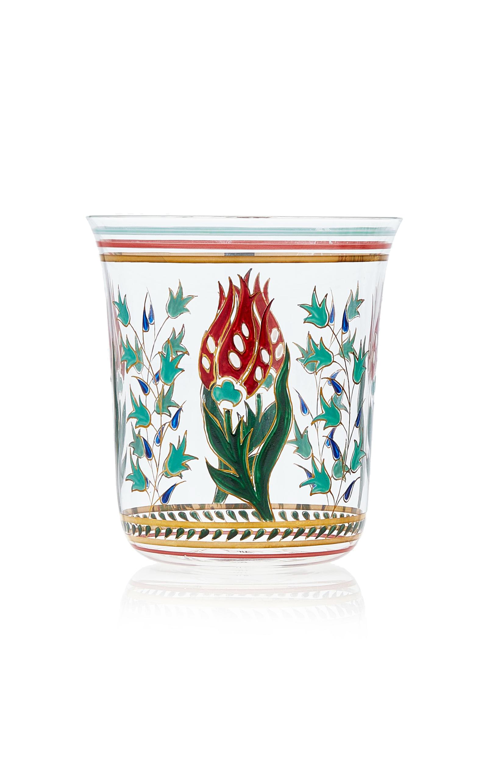 Lobmeyr – Persian No. 1 Handpainted Floral Motif Tumbler – Color: Multi – Material: glass – Moda Operandi
