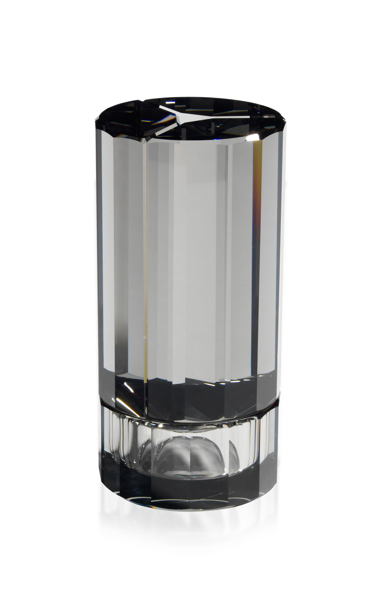 Atelier Swarovski – Aldo Bakker Small Vase – Color: White/blue – Material: Crystal – Moda Operandi