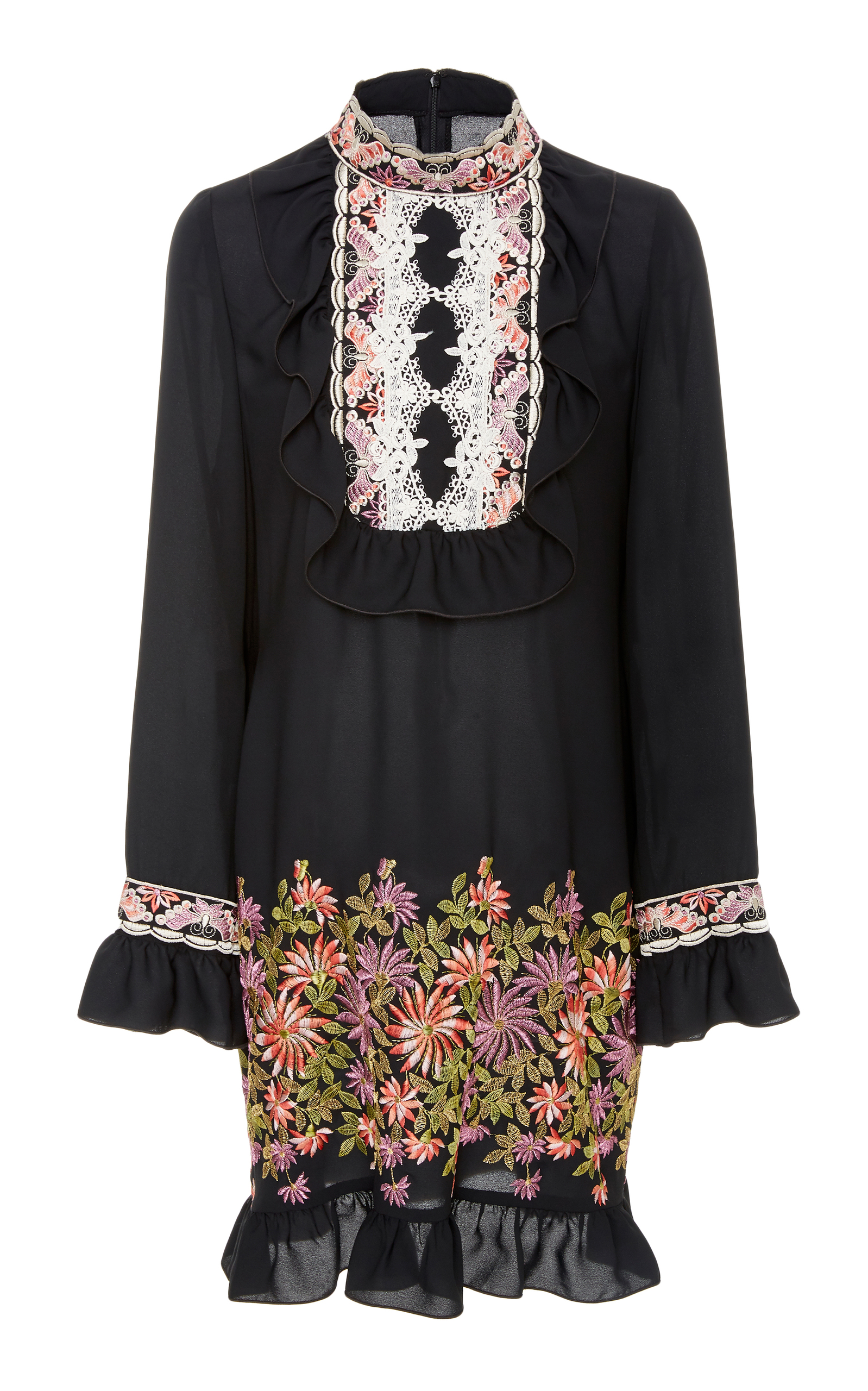 Daisy Georgette Dress By Anna Sui