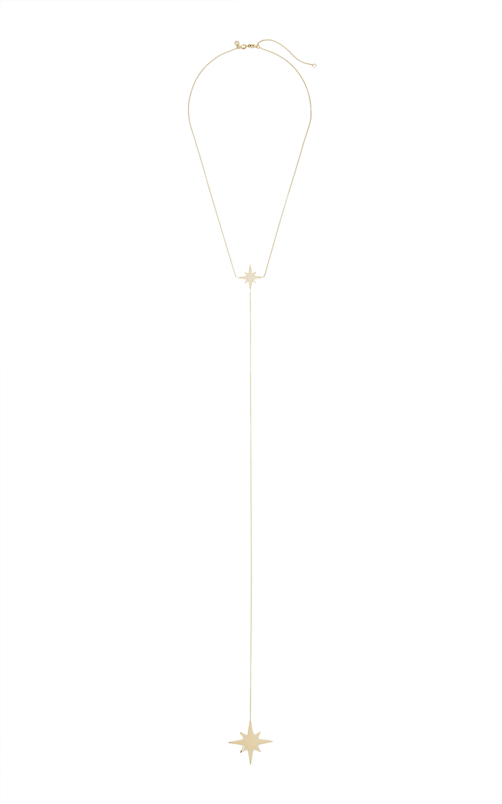 Sydney Evan – Women's Starburst Y-Necklace – Gold – Moda Operandi
