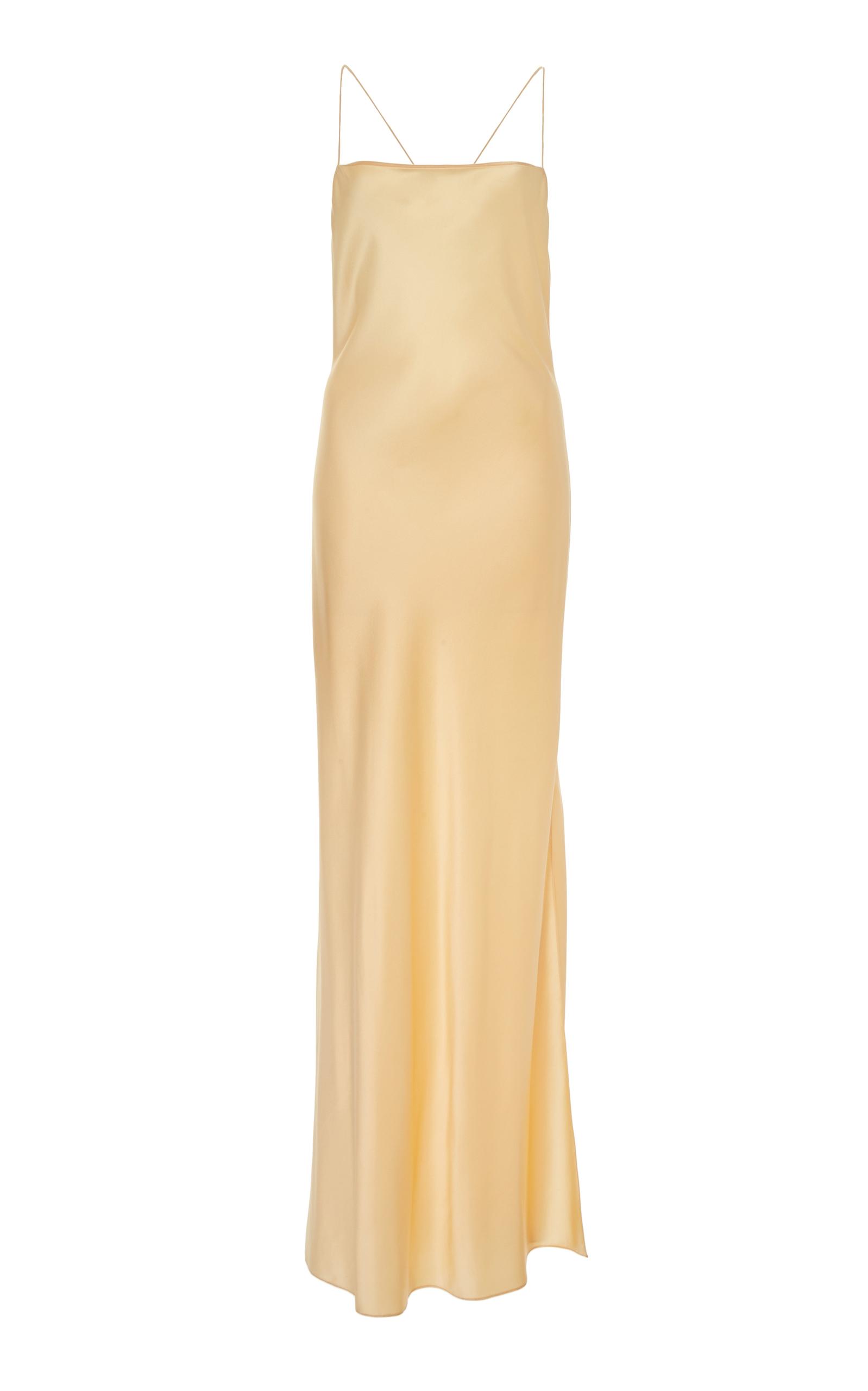 Buy Marina Moscone Satin Slip Dress online, shop Marina Moscone at the best price