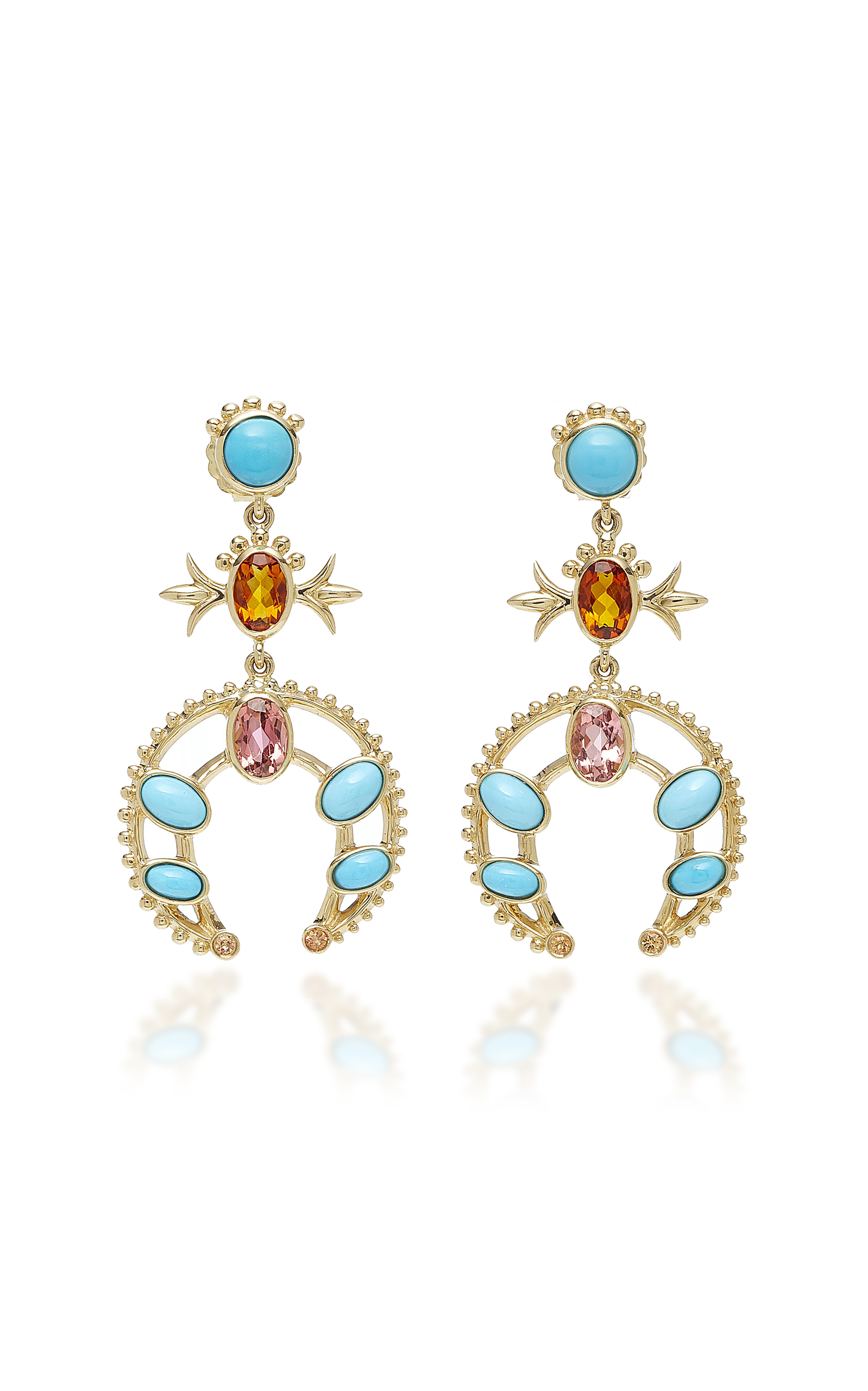 Women's Squash Blossom Earrings