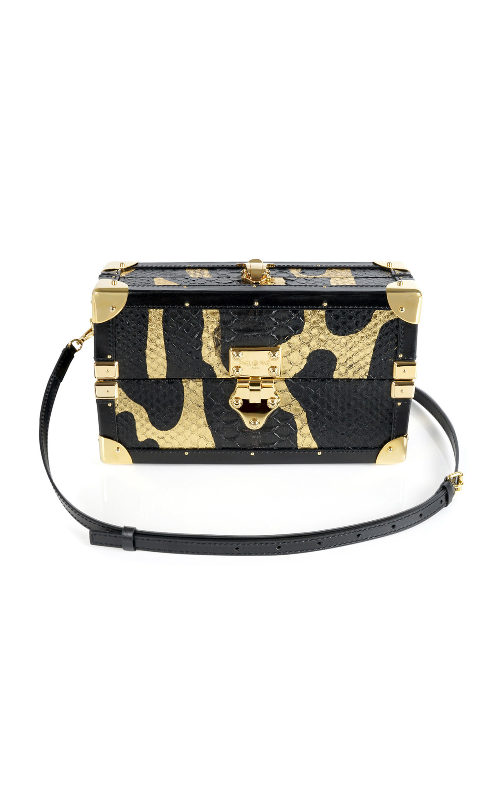 Mini Malle Python Trunk By Pinel Et