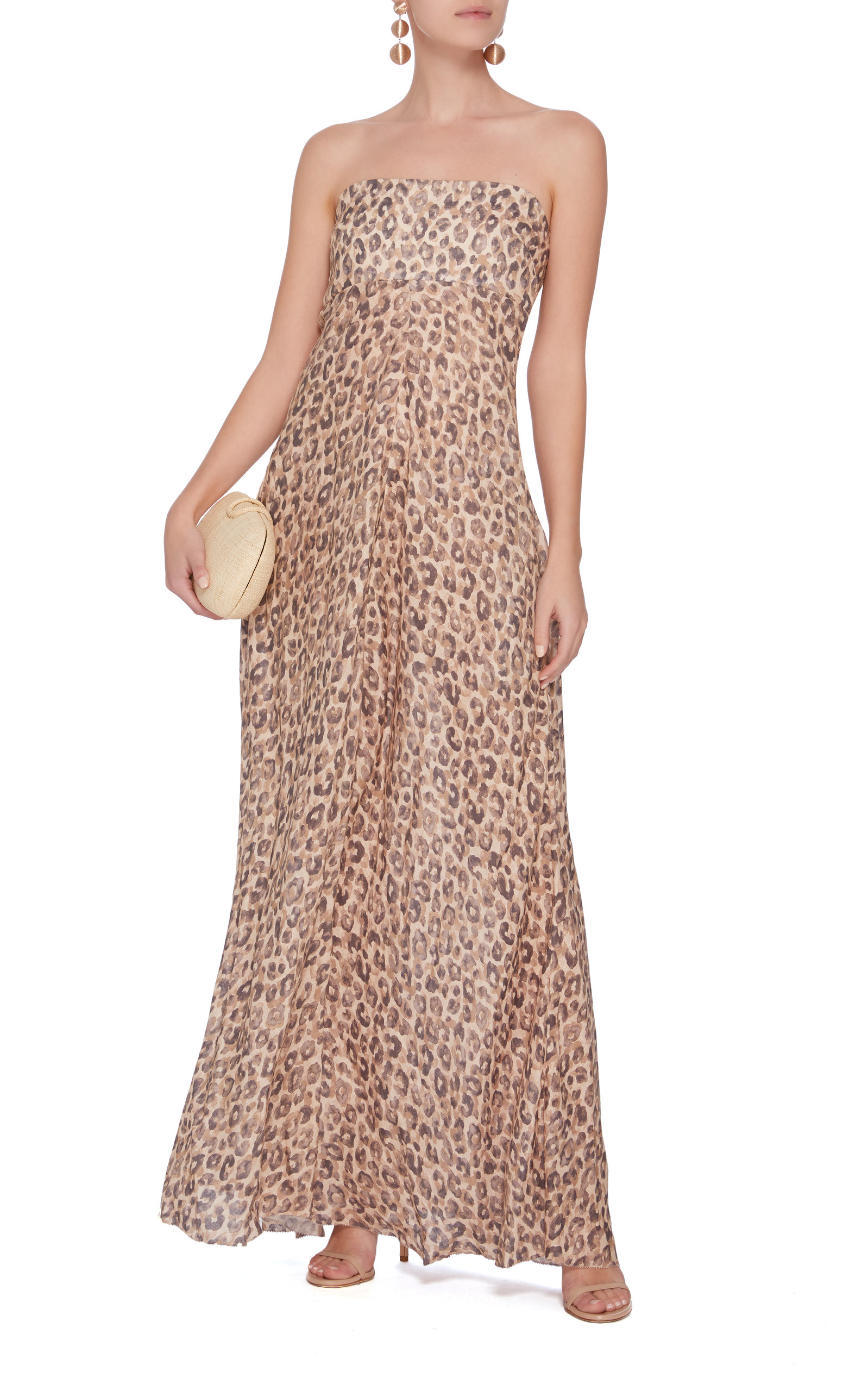 Melody Strapless Long Dress By