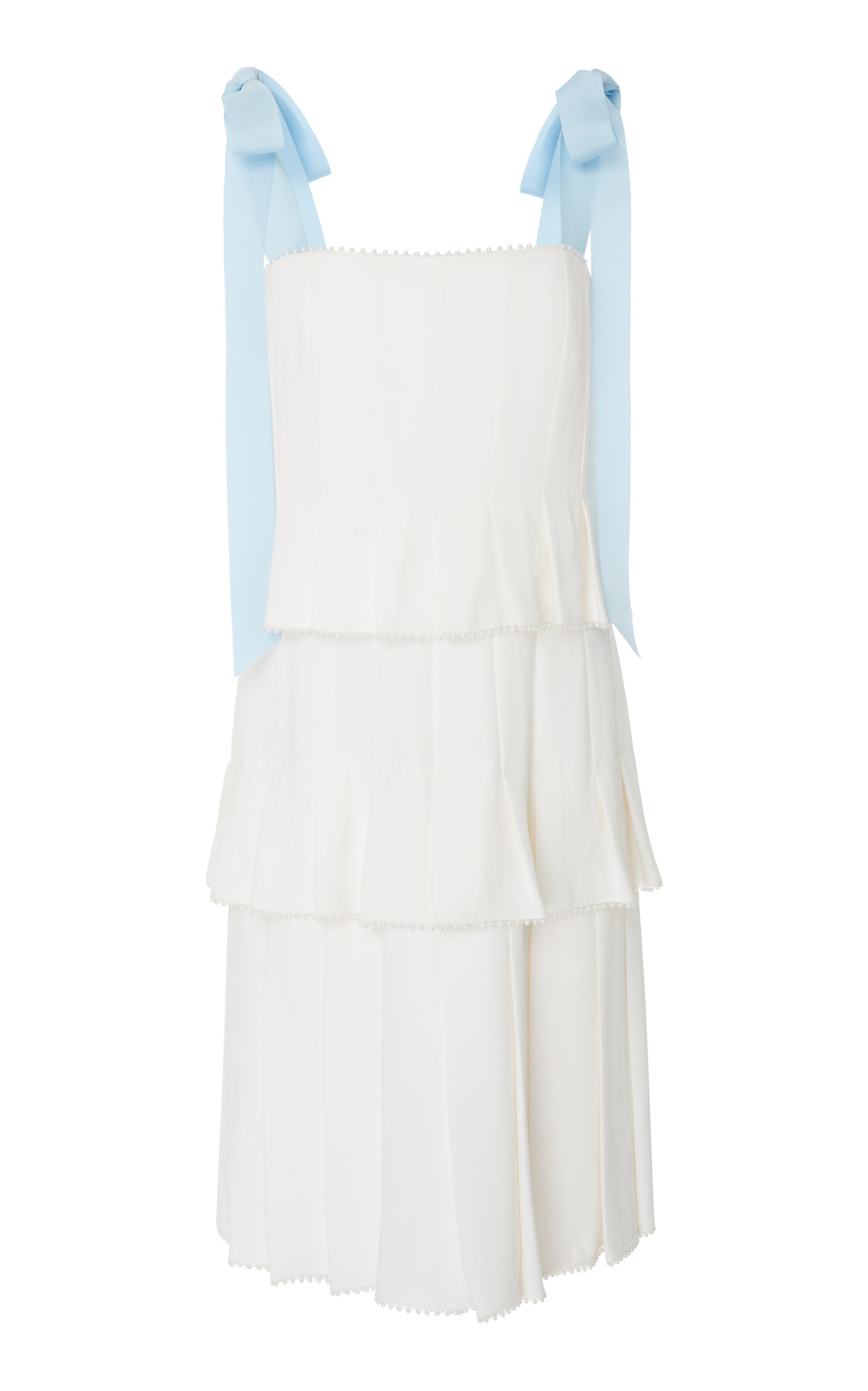 Buy Carolina Herrera Hildie Pleated Dress online, shop Carolina Herrera at the best price