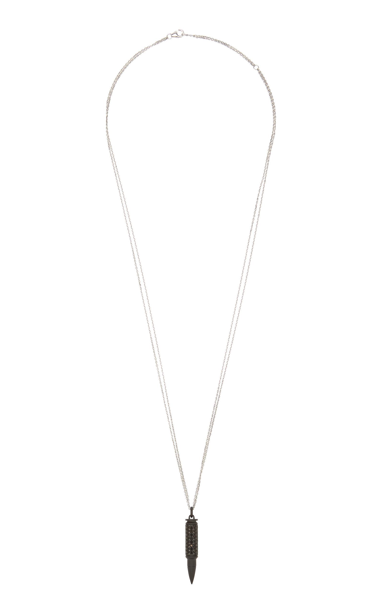 Women's Titanium Diamond Necklace