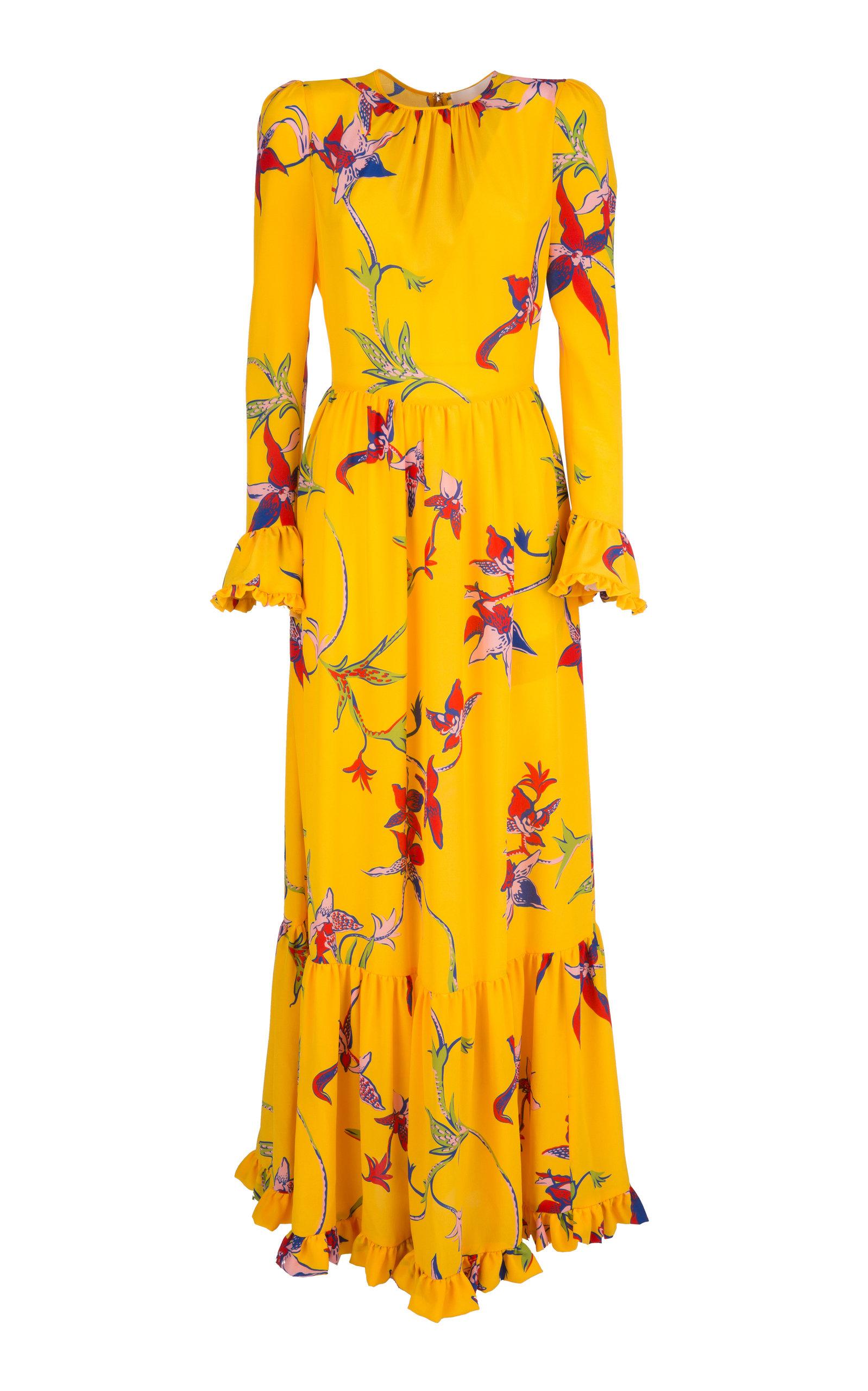 Buy La DoubleJ Summer Visconti Silk Maxi Dress online, shop La DoubleJ at the best price