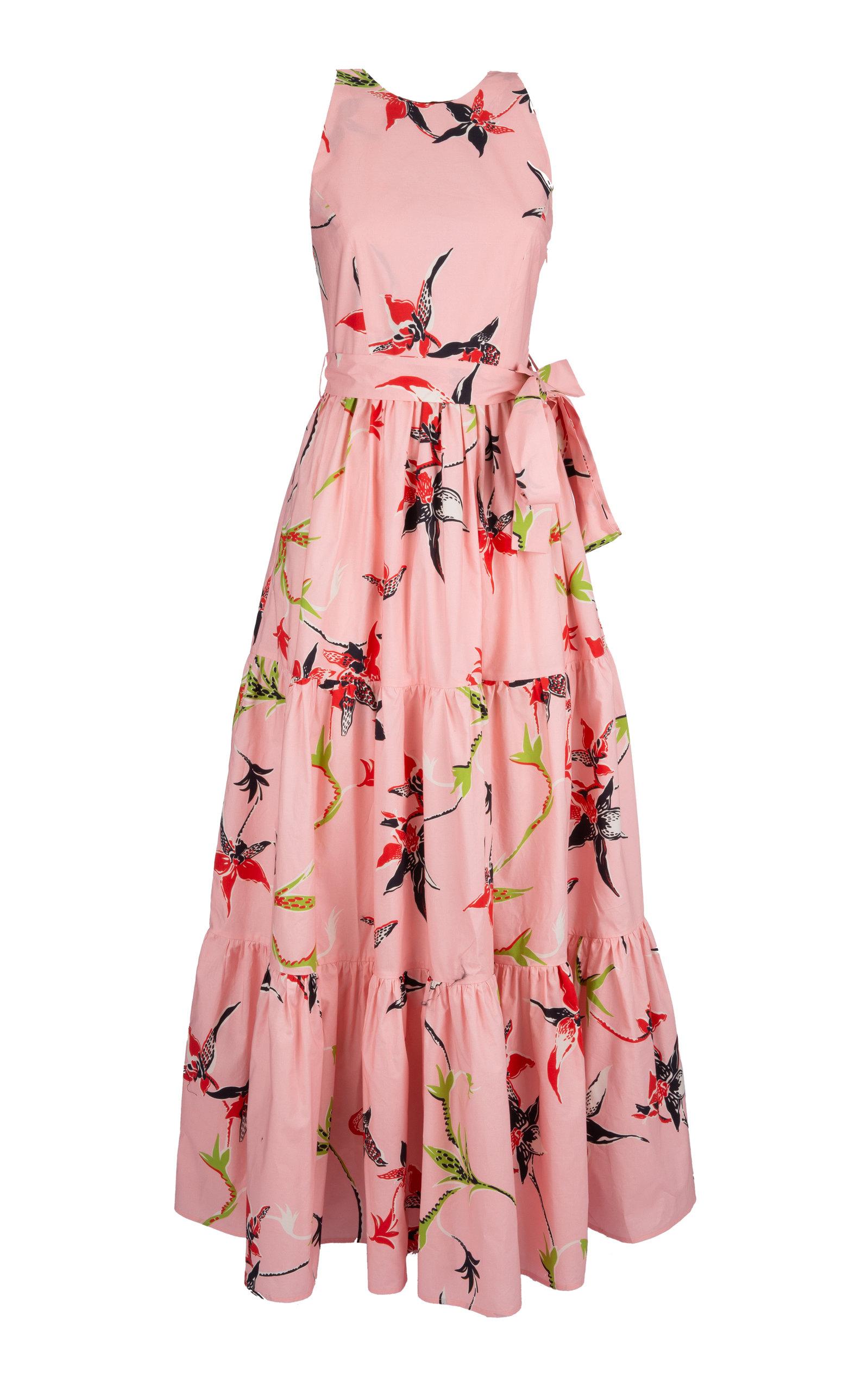 Buy La DoubleJ Pellicano Americano Cotton Maxi Dress online, shop La DoubleJ at the best price