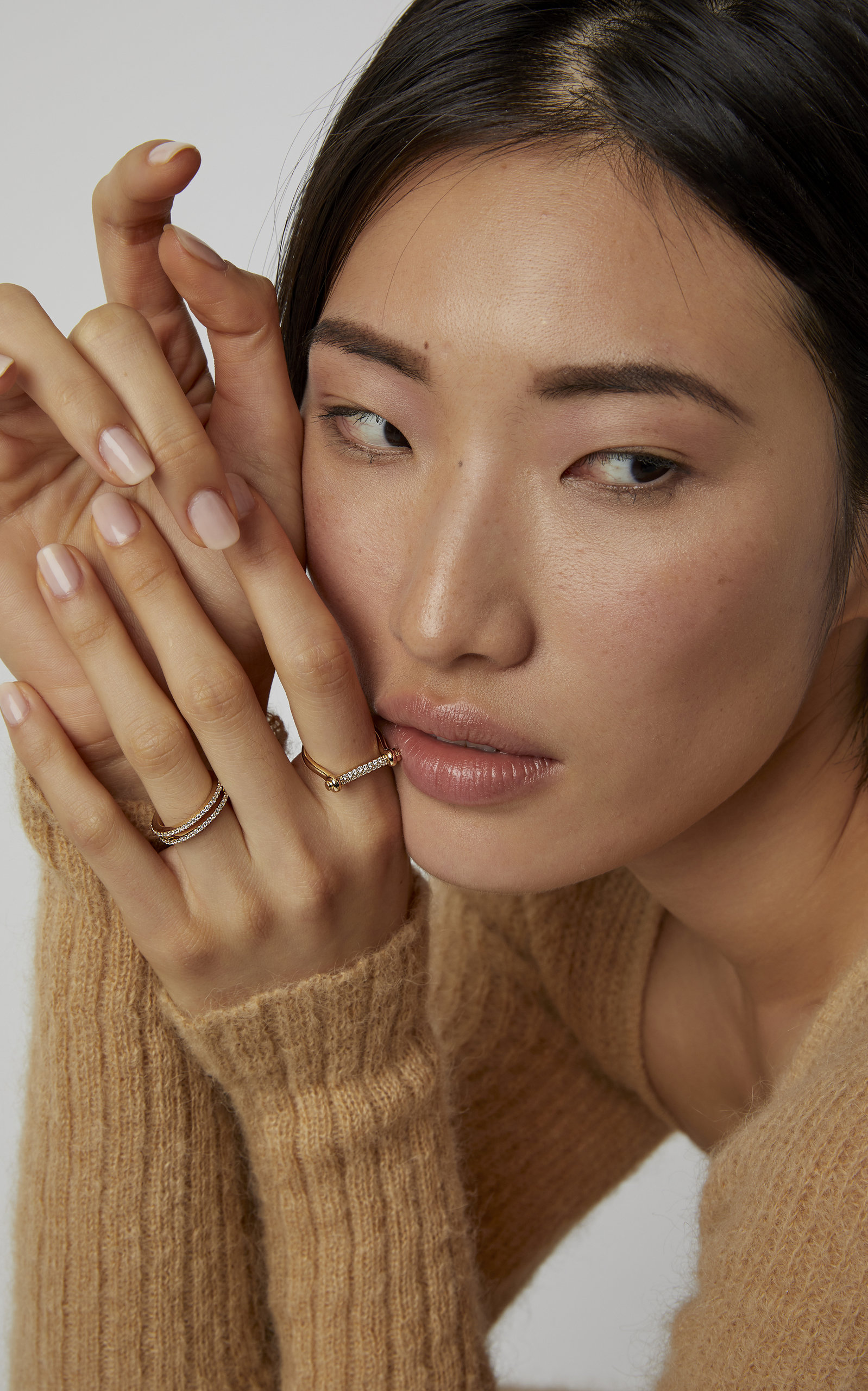 14k Gold Diamond Ring By Miansai Moda Operandi