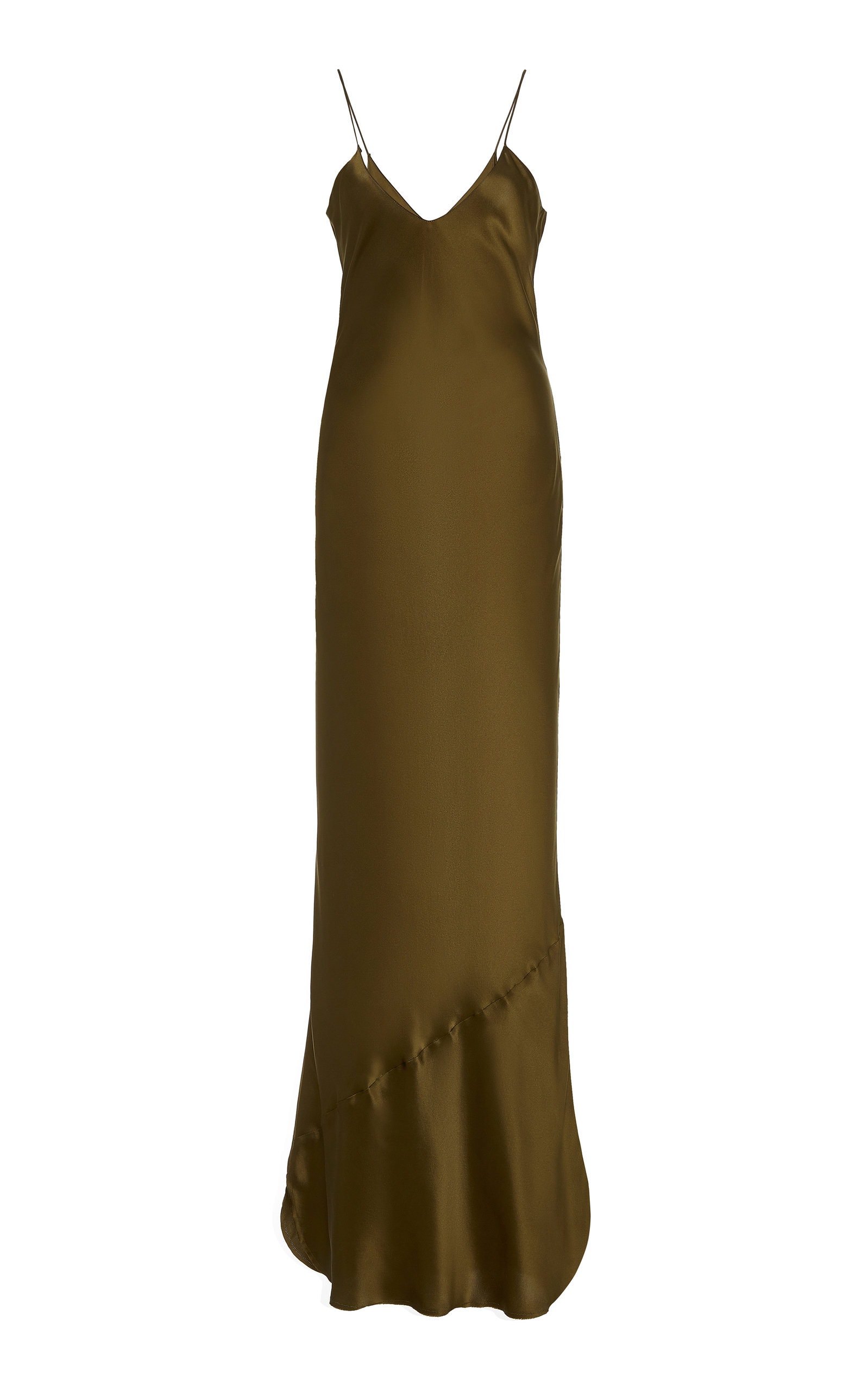 Buy NILI LOTAN Cami Silk-Charmeuse Gown online, shop NILI LOTAN at the best price