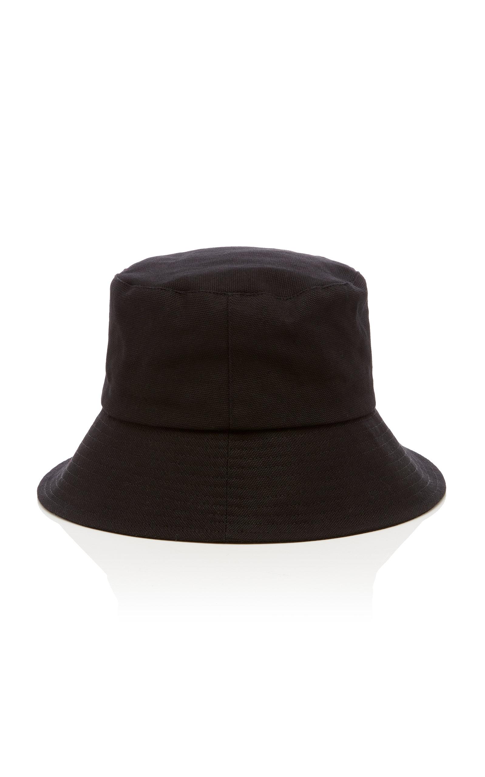 Women's Wave Cotton-Canvas Bucket Hat