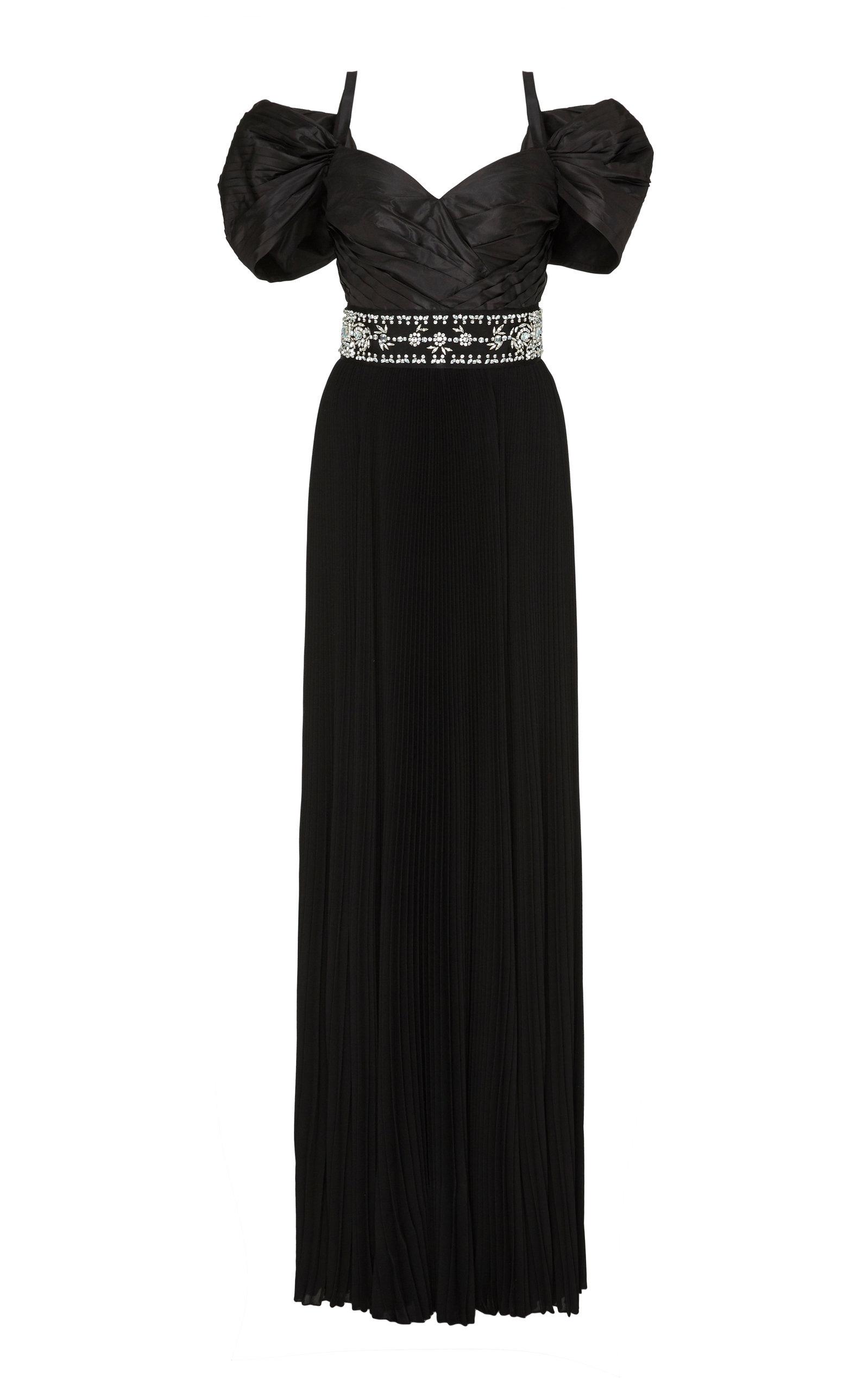 Buy Prada Crystal-Embellished Taffeta Gown online, shop Prada at the best price