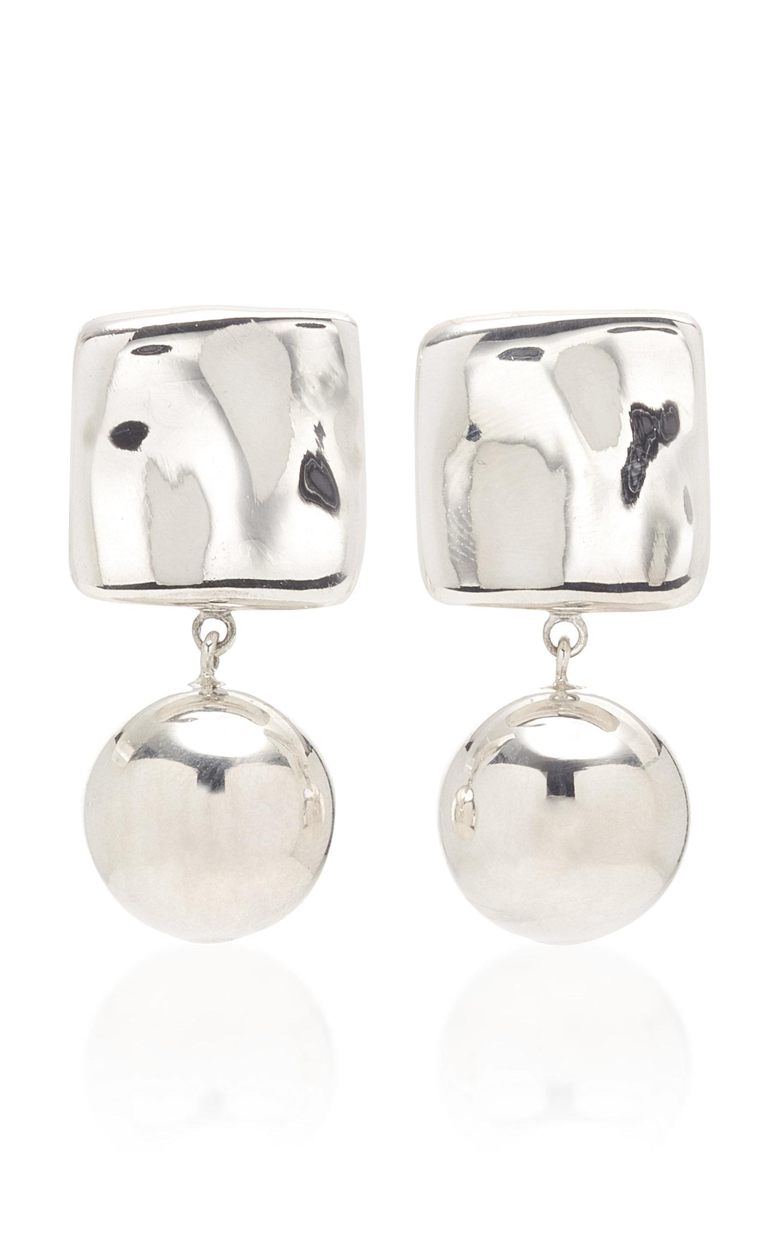Women's Luca Sterling Silver Drop Earrings