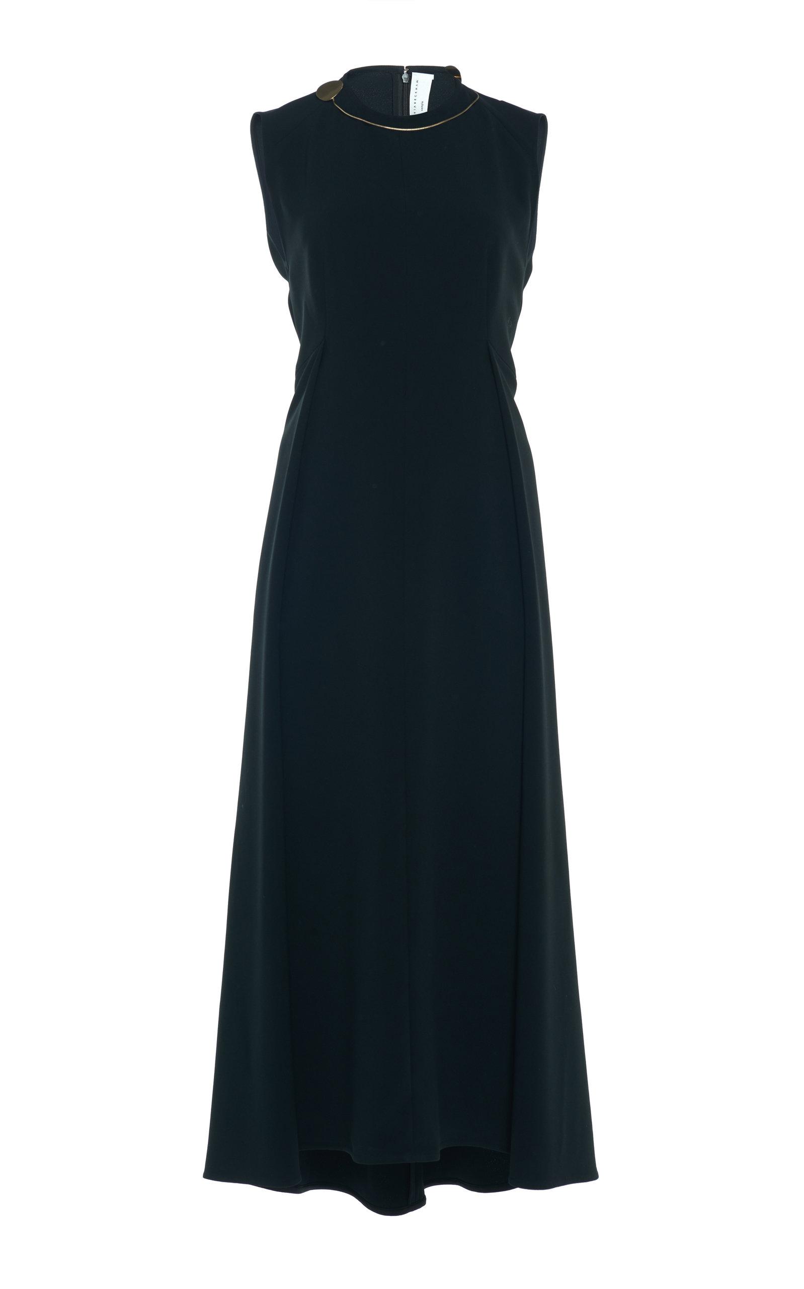 Buy Victoria Beckham A-Line Cady Midi Dress online, shop Victoria Beckham at the best price