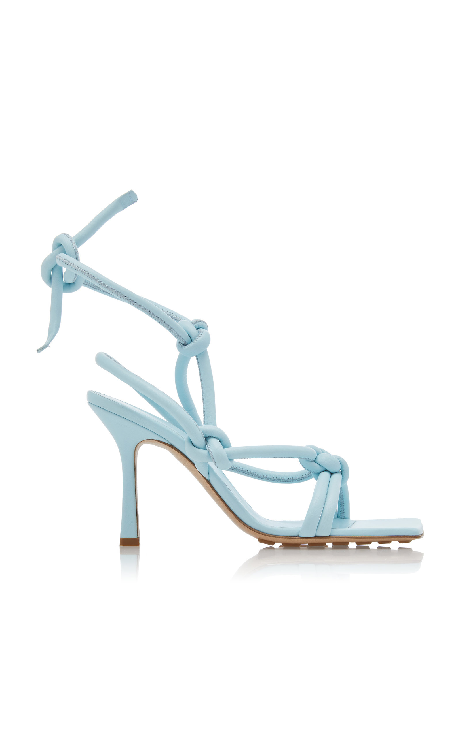 Dream Knotted Leather Sandals by