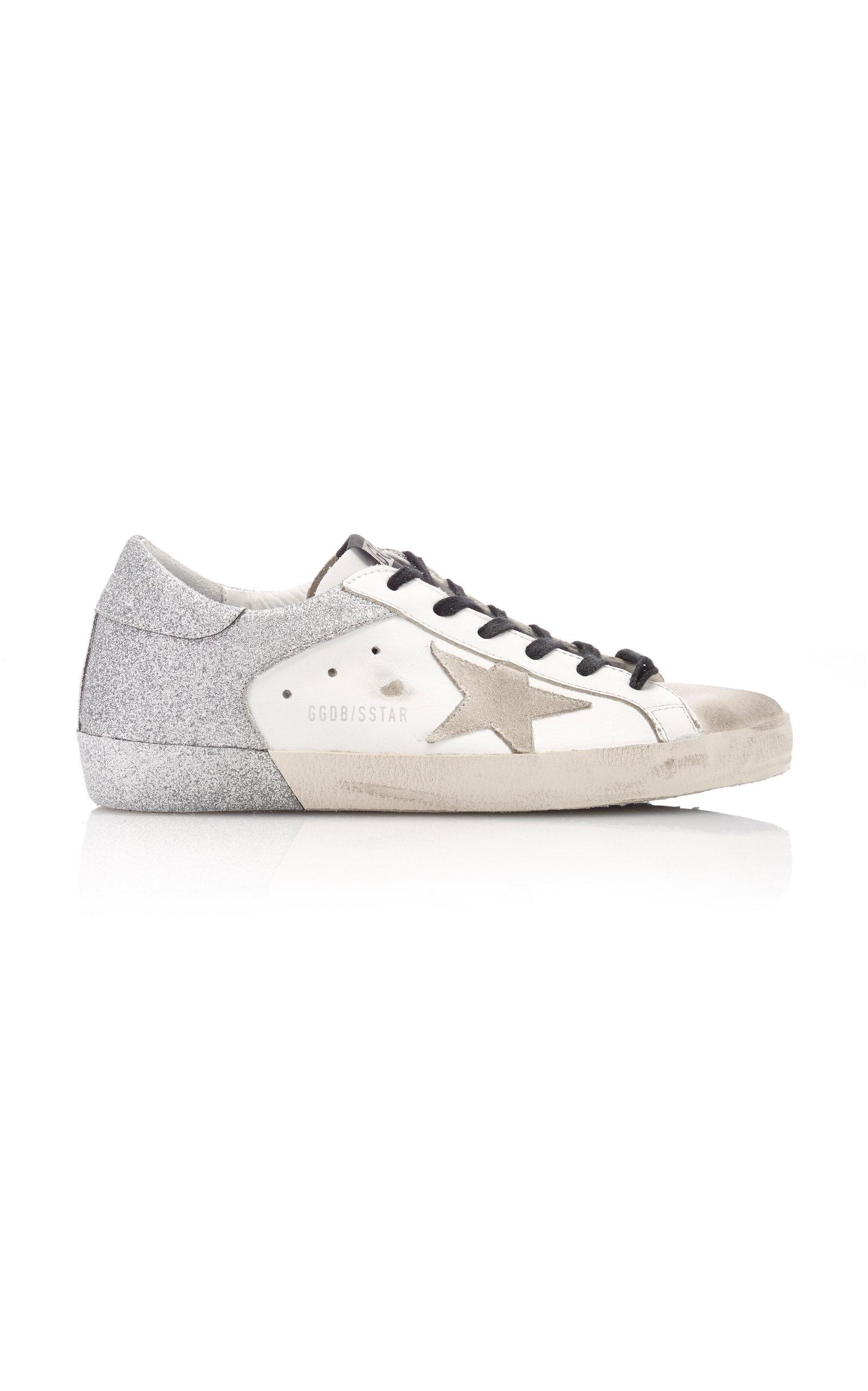Golden Goose - Women's Superstar Low-Top Leather Sneakers - Multi - Moda Operandi