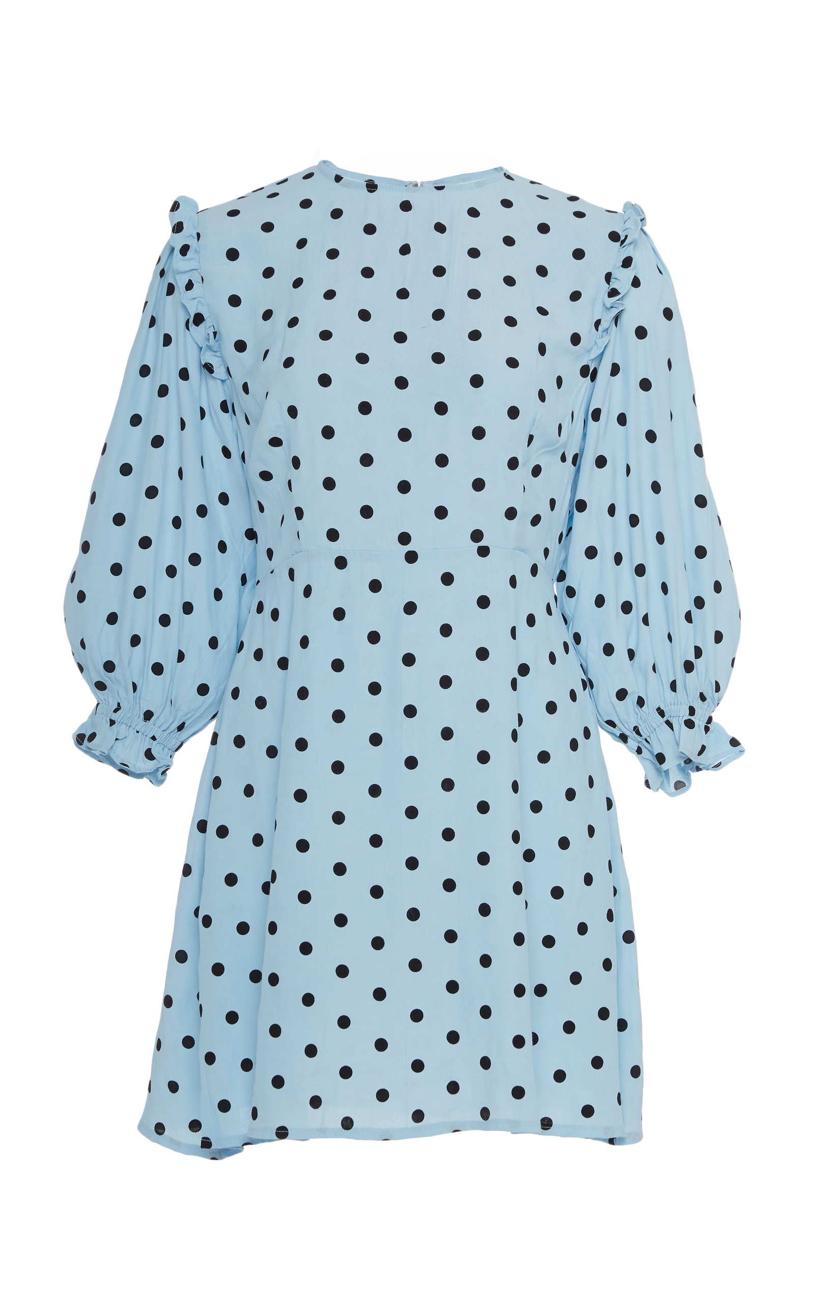 Buy Faithfull The Brand Edwina Polka Dot Print Dress online, shop Faithfull The Brand at the best price