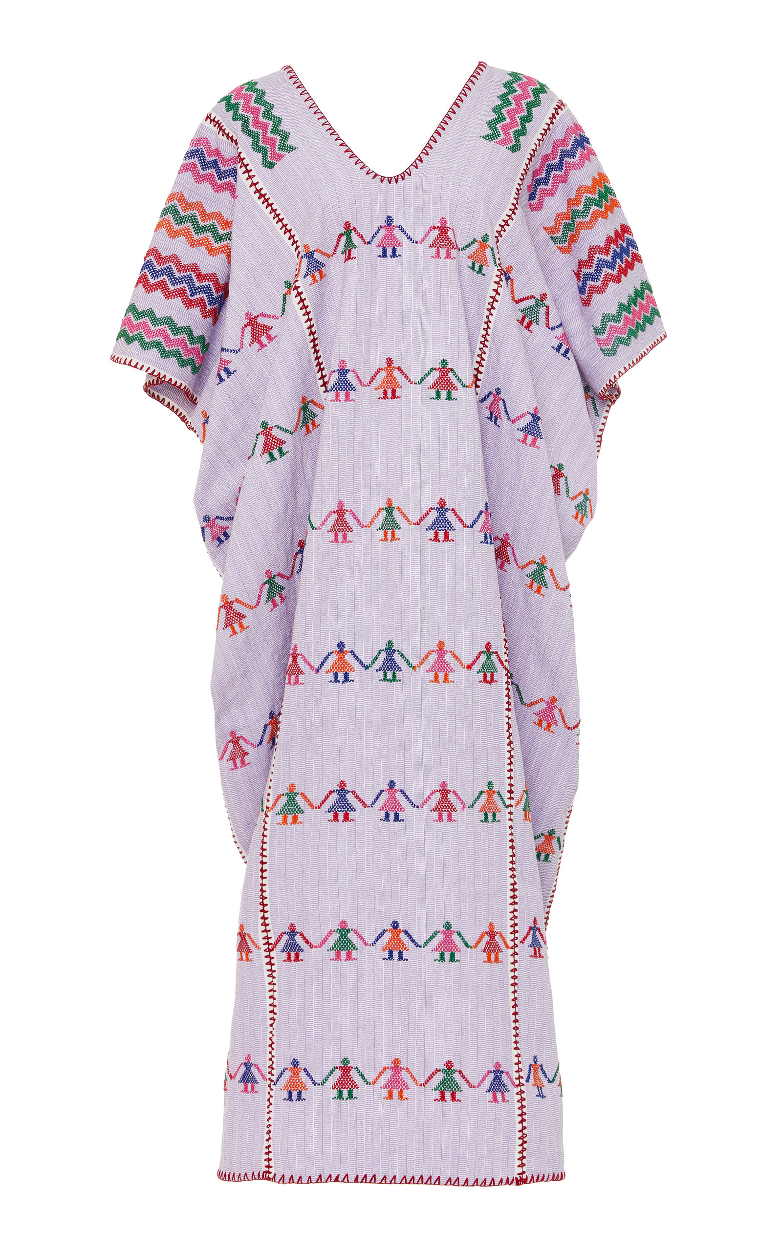 Buy Pippa Holt Embroidered Cotton Caftan online, shop Pippa Holt at the best price