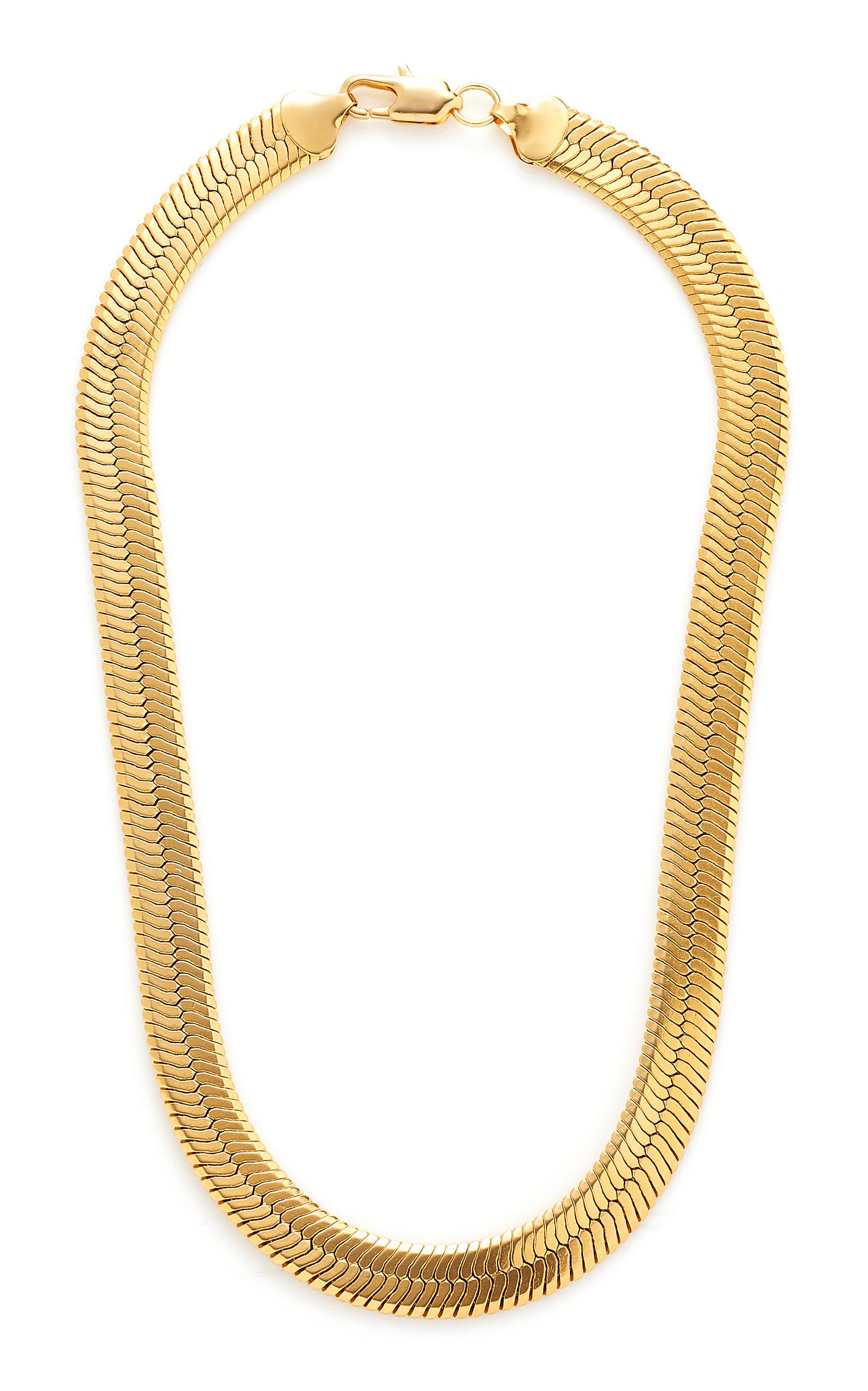 Women's Gold-Tone Brass Collar Necklace