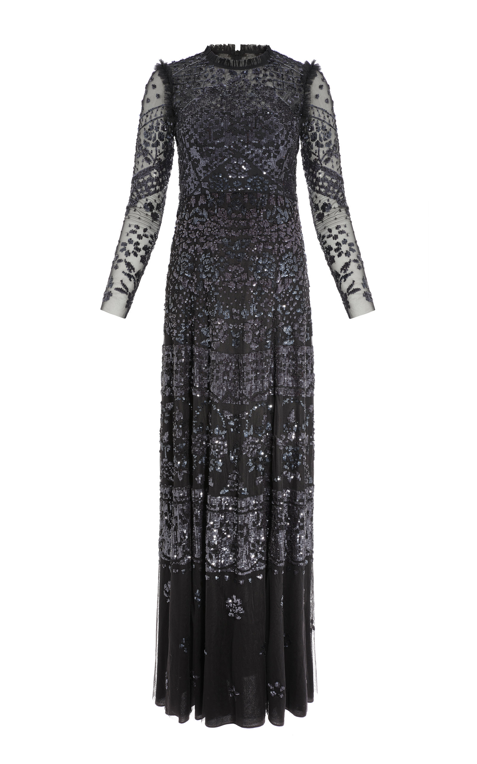 Buy Needle & Thread Aurora Sequin Maxi Dress online, shop Needle & Thread at the best price