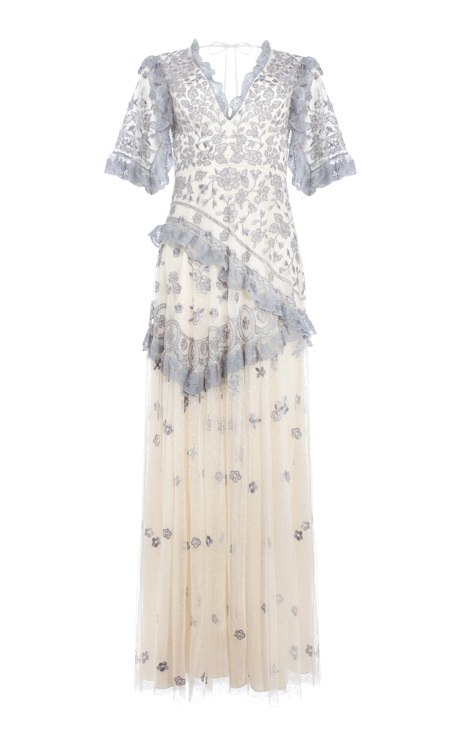 Buy Needle & Thread Elsa Floral Maxi Dress online, shop Needle & Thread at the best price