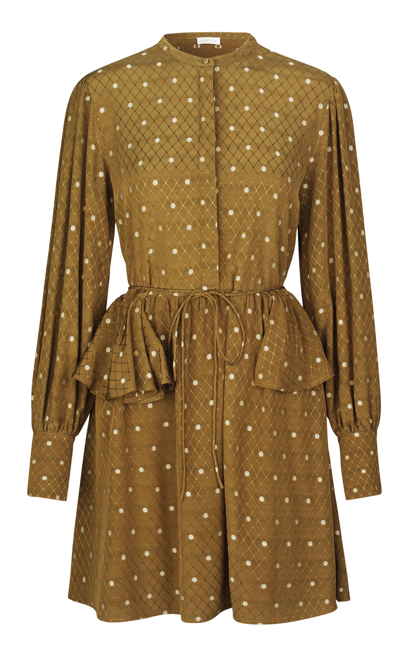 Buy Stine Goya Lenita Ruffled Hip Dress online, shop Stine Goya at the best price