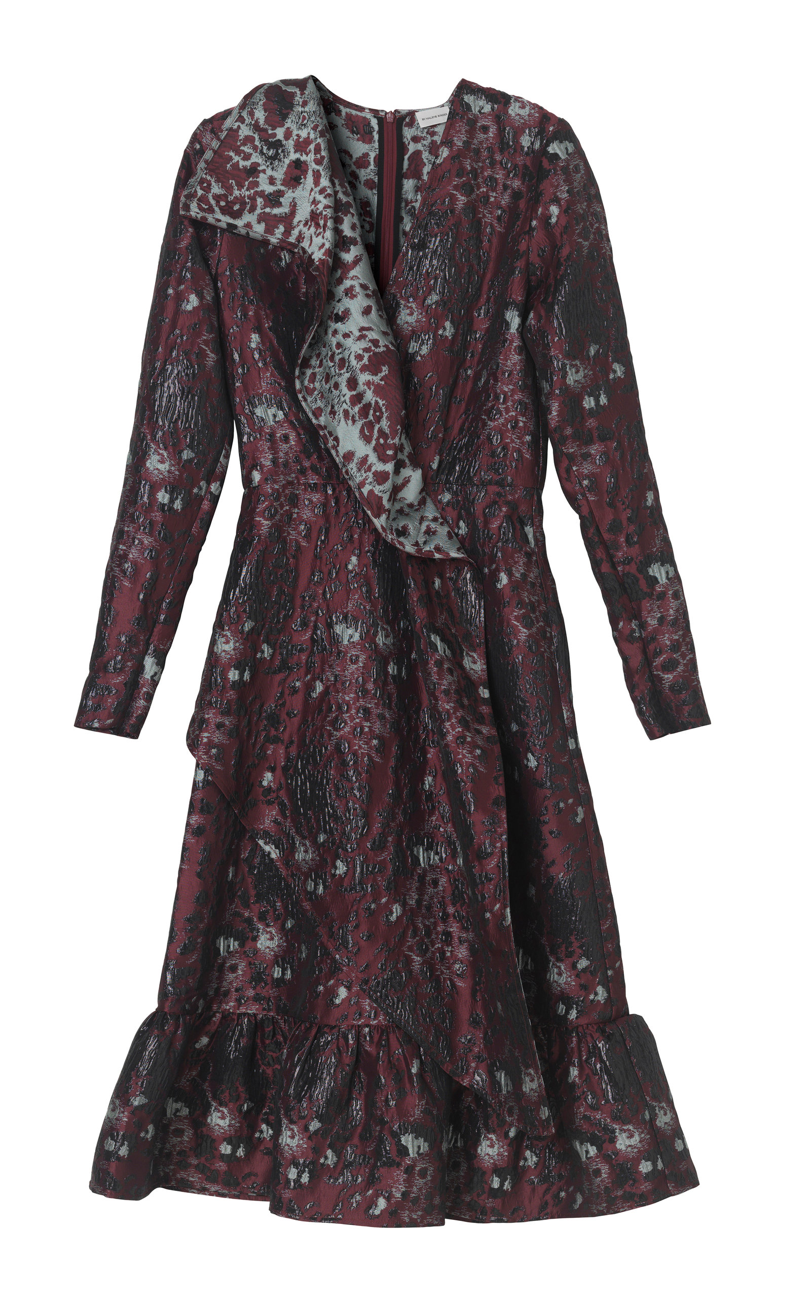 Buy By Malene Birger Lisieux Leopard Jacquard Dress online, shop By Malene Birger at the best price