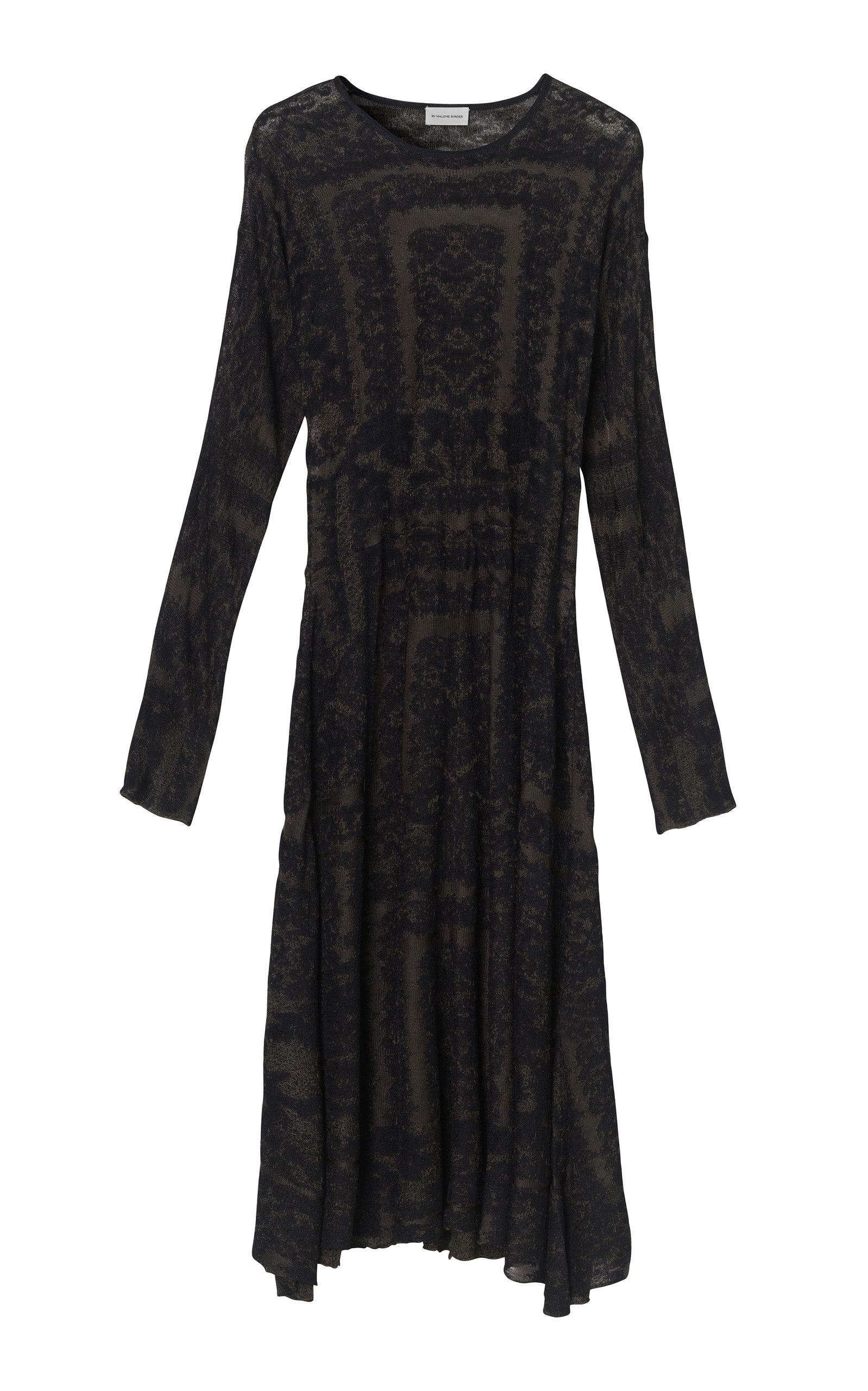 Buy By Malene Birger Onix Viscose Jacquard Dress online, shop By Malene Birger at the best price
