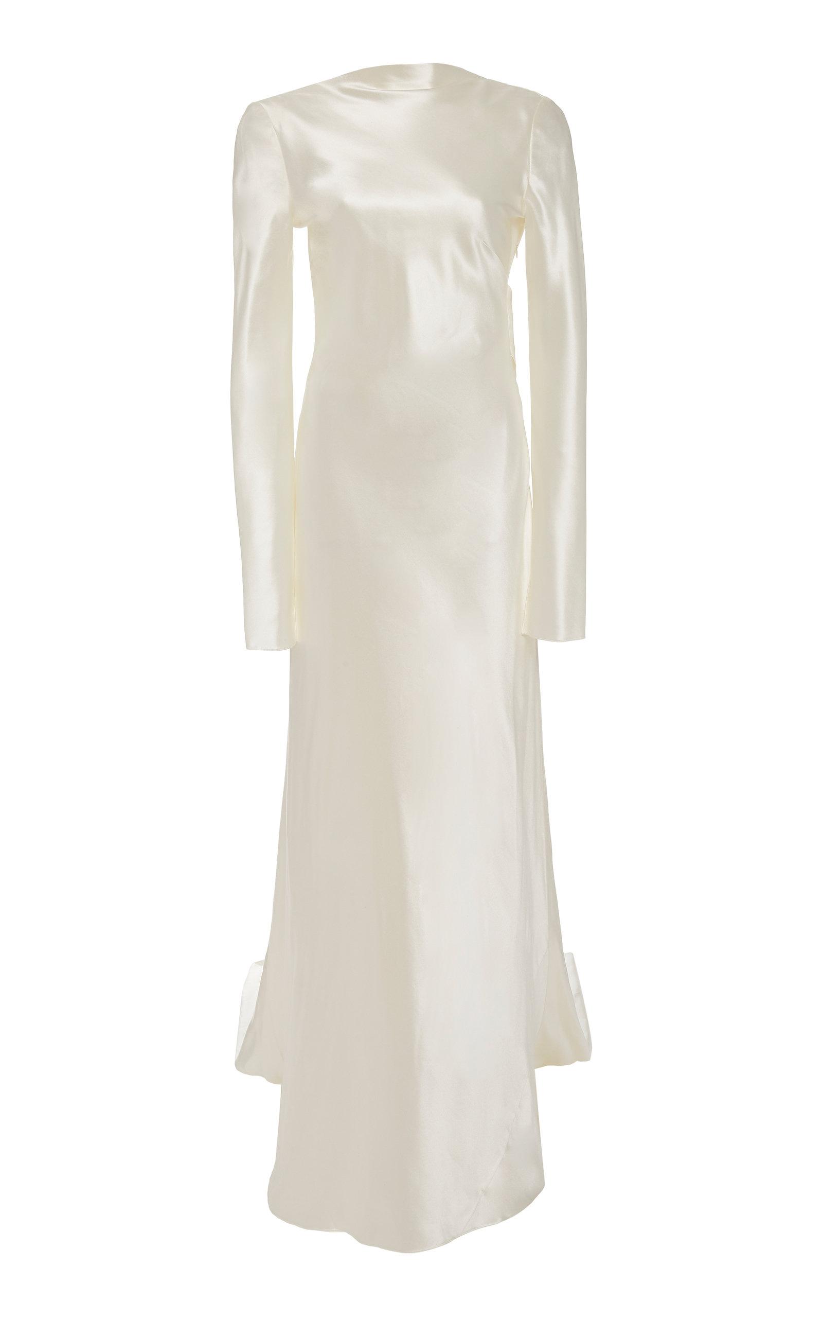 Buy Danielle Frankel Simone Silk-Blend Gown online, shop Danielle Frankel at the best price