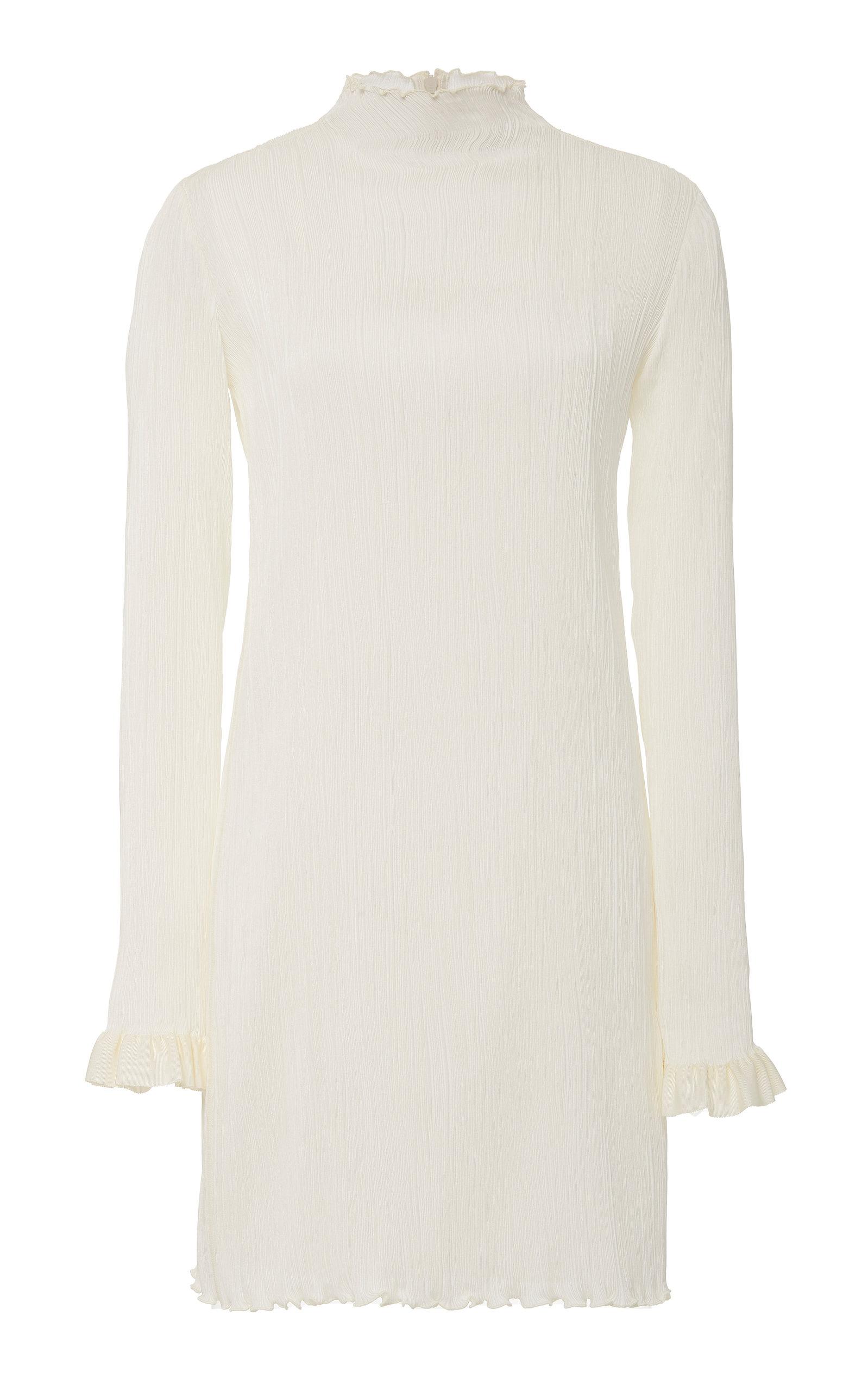 Buy Danielle Frankel Jamie High-Neck Silk Mini Dress online, shop Danielle Frankel at the best price