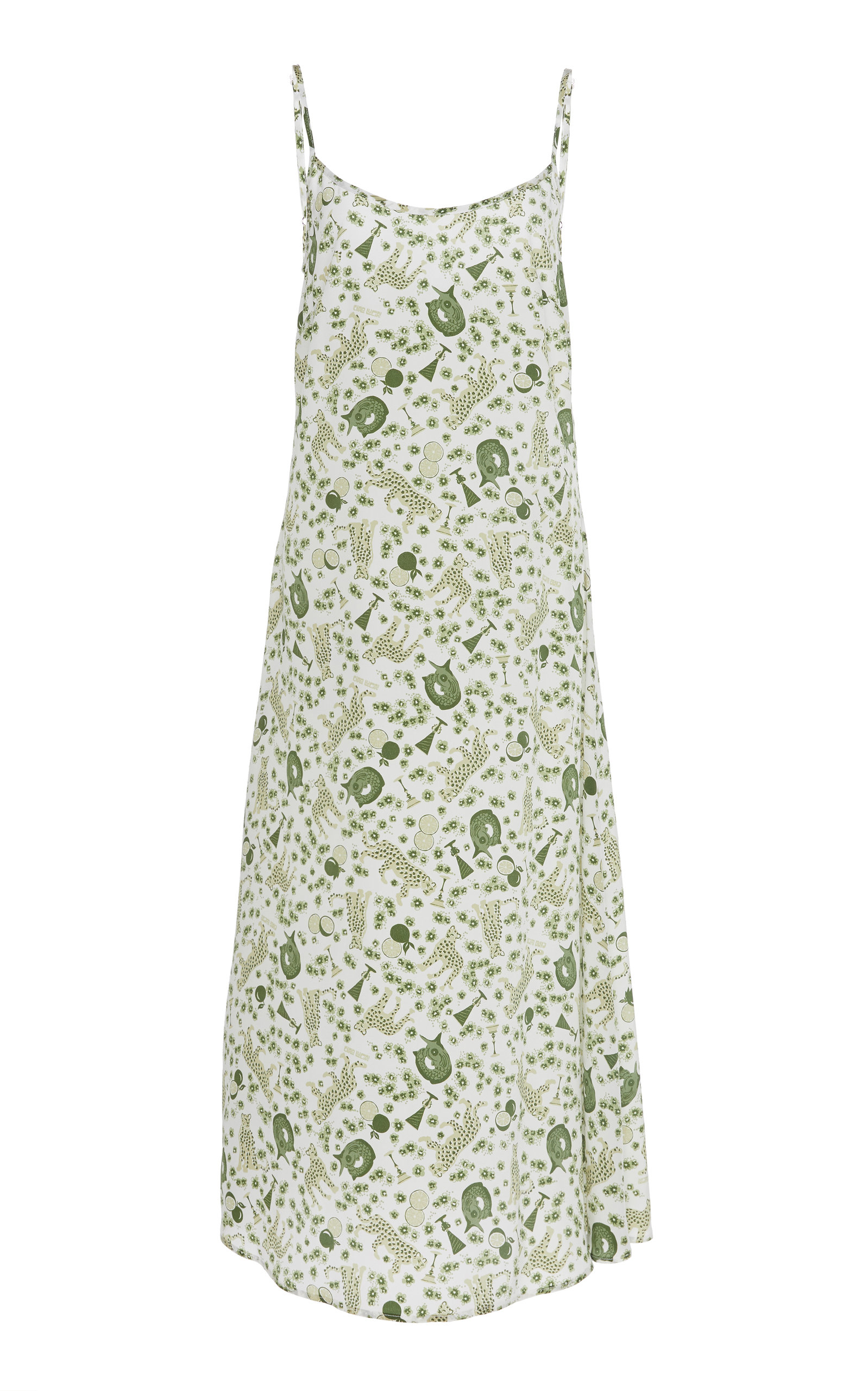 Buy Ciao Lucia Cristina Printed Silk Dress online, shop Ciao Lucia at the best price