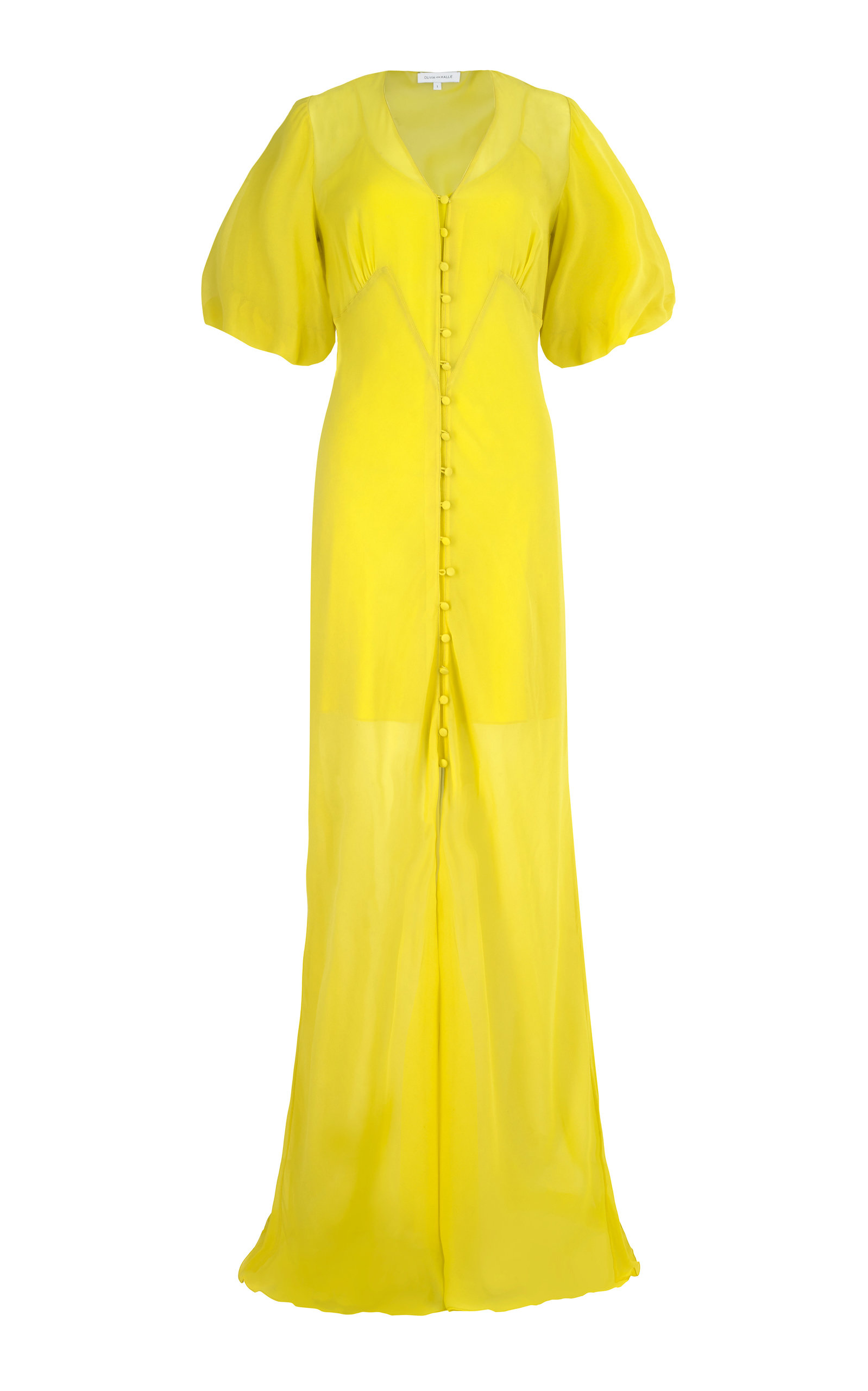Buy Olivia von Halle Delphine Maxi Dress online, shop Olivia von Halle at the best price