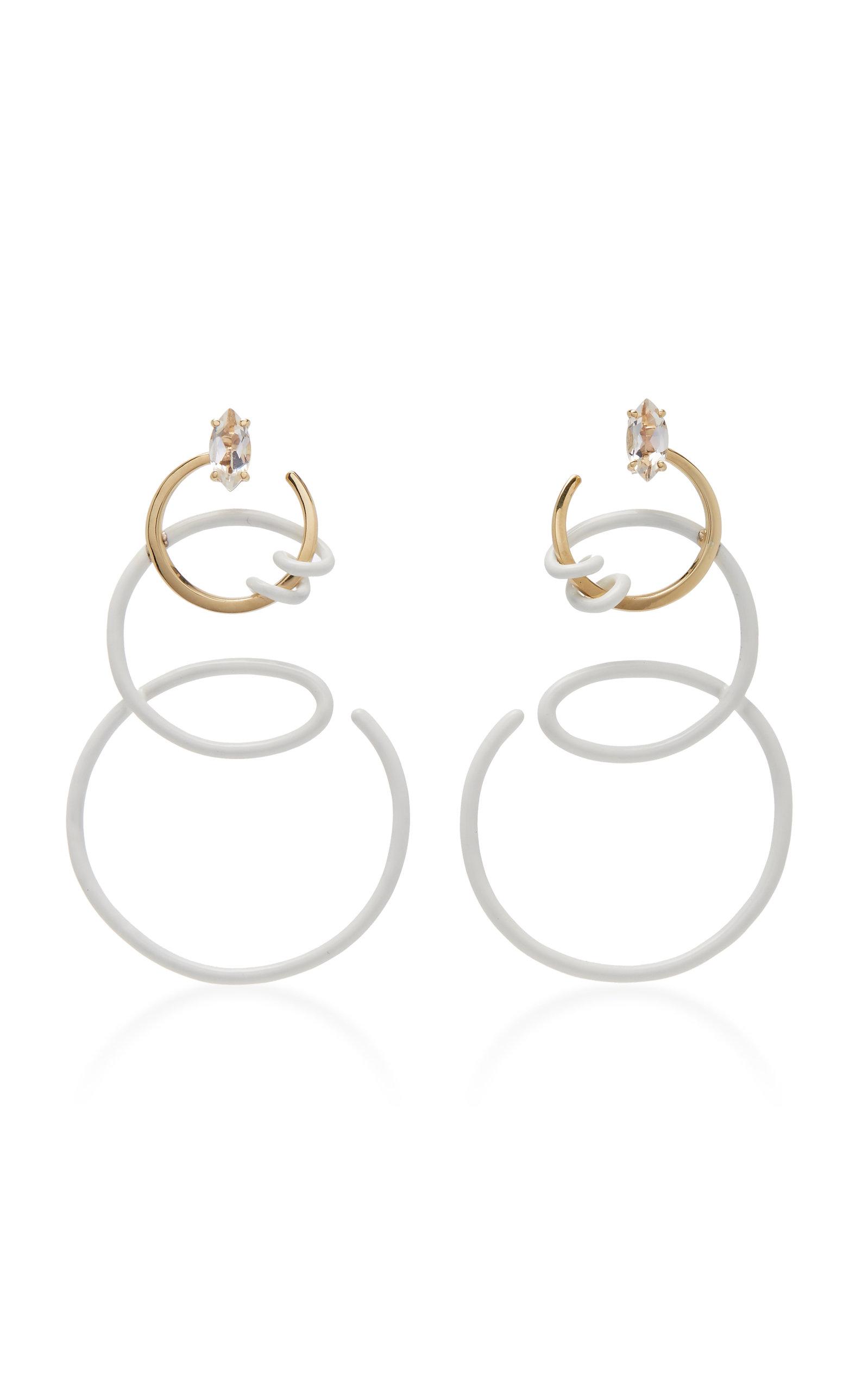 Women's Single Curl Vine Earrings