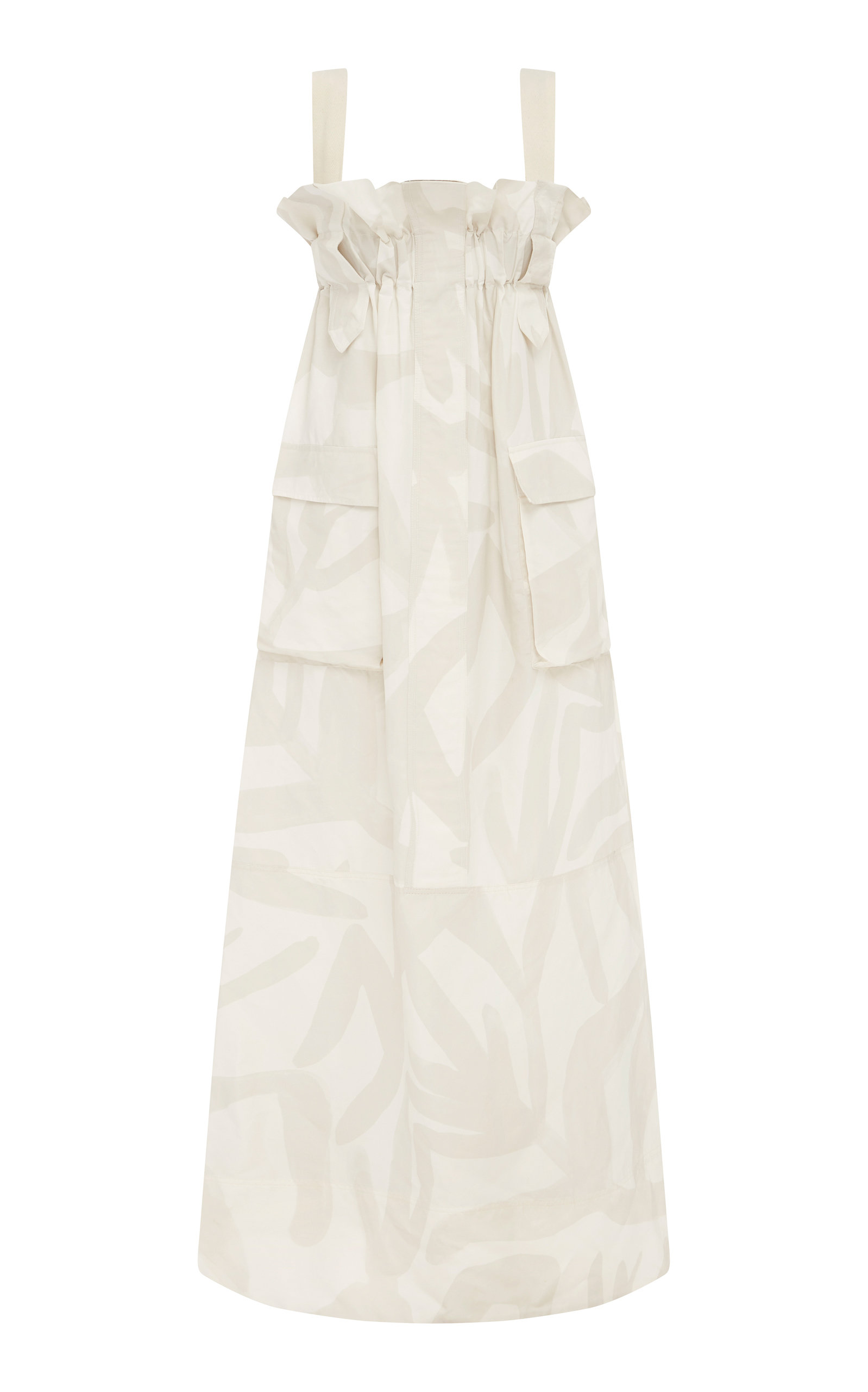 Buy LEE MATHEWS Alexa Ruffled Printed Linen-Blend Maxi Dress online, shop LEE MATHEWS at the best price