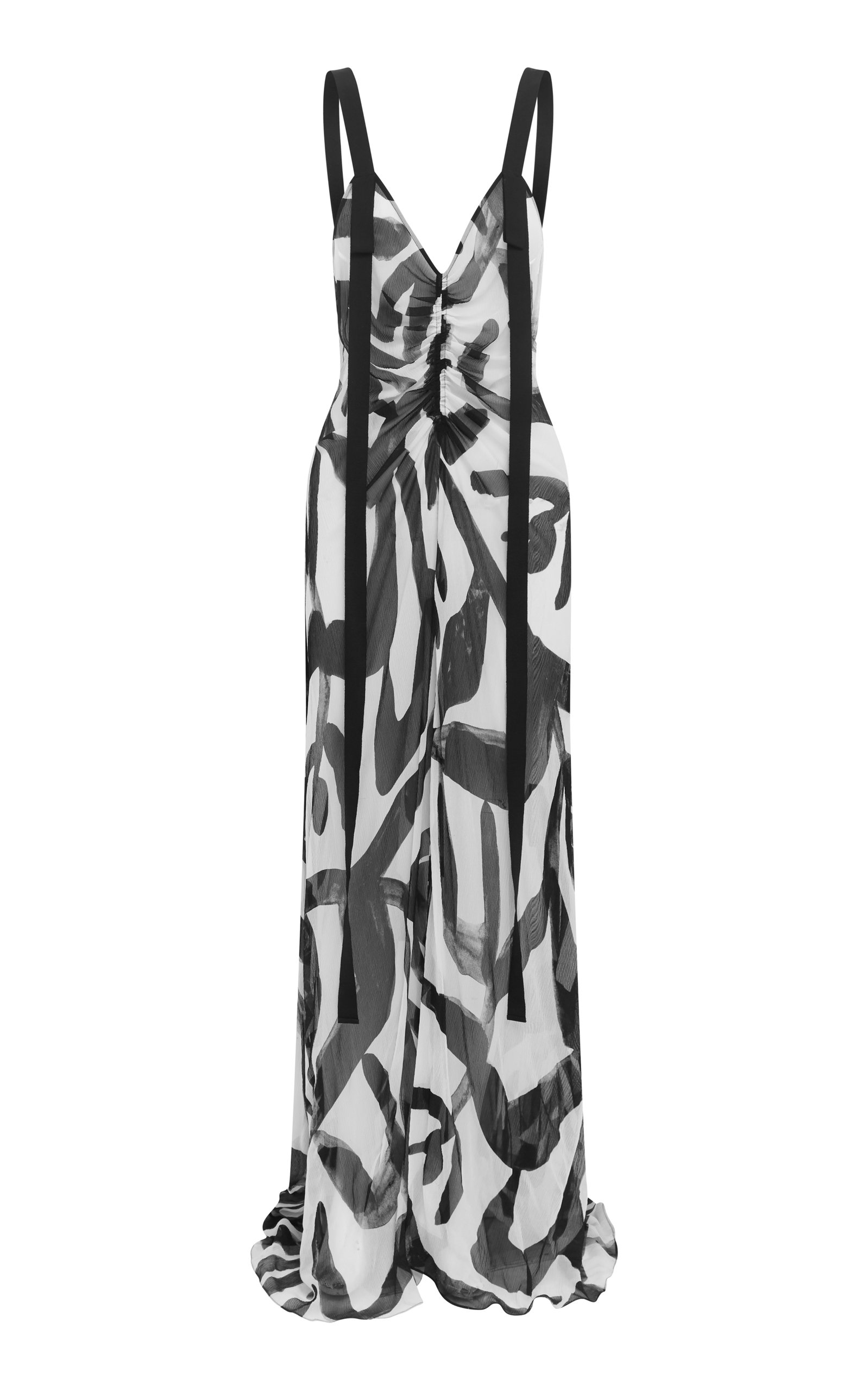 Buy LEE MATHEWS Estelle Printed Silk-Chiffon Maxi Dress online, shop LEE MATHEWS at the best price