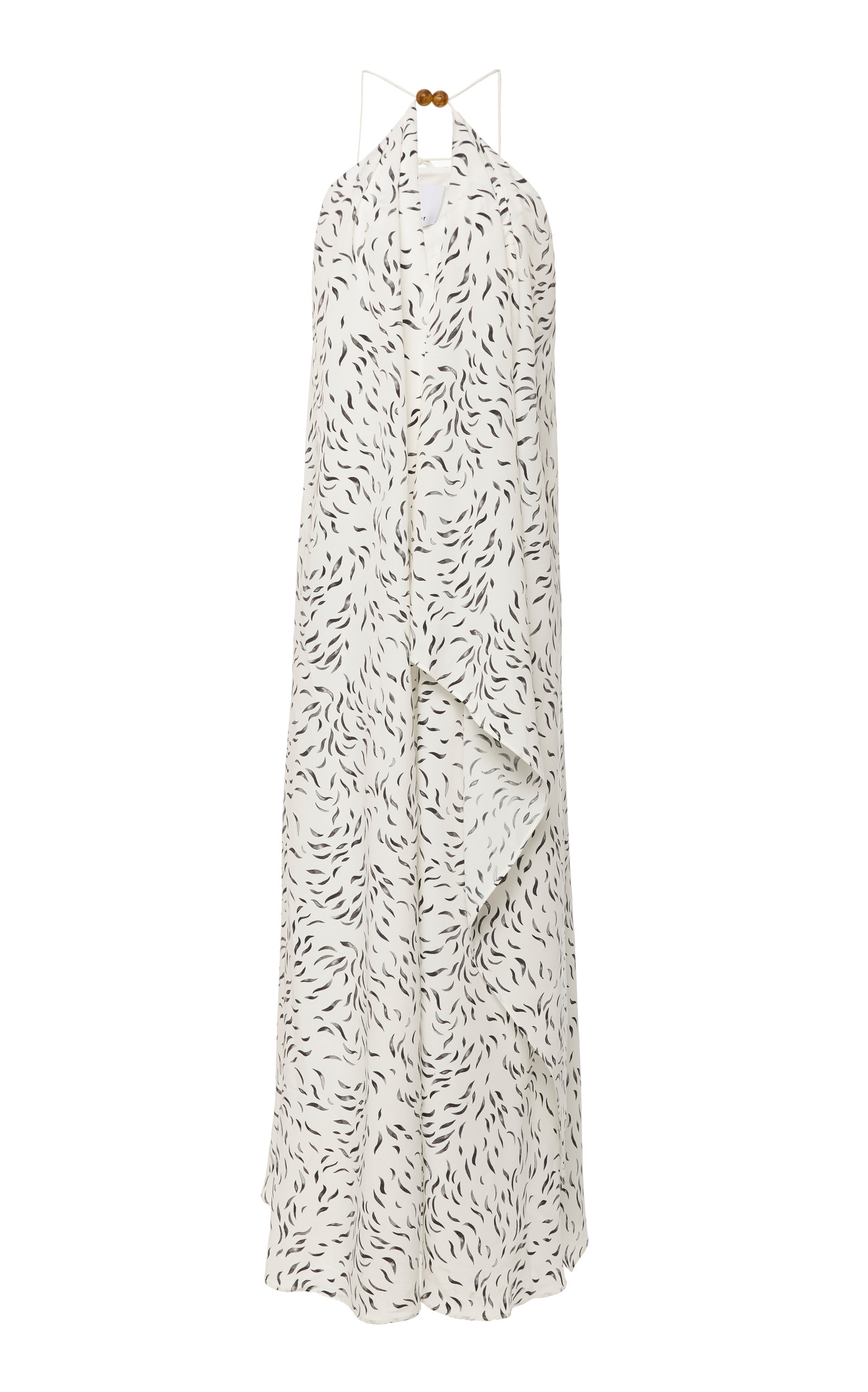 Buy Acler Rawlings Ruffled Printed Georgette Maxi Dress online, shop Acler at the best price