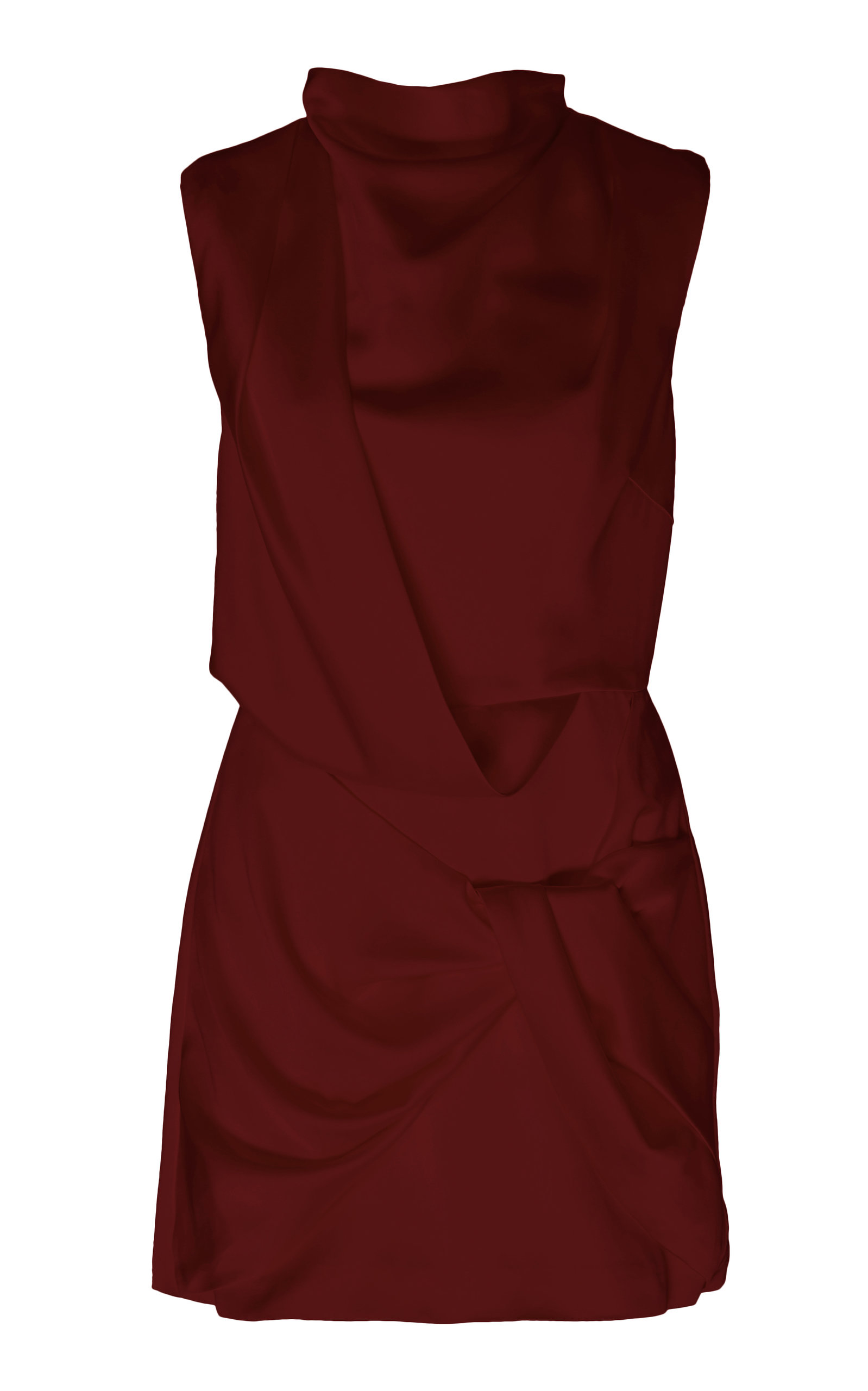 Buy Acler Jasper Draped Sateen Mini Dress online, shop Acler at the best price