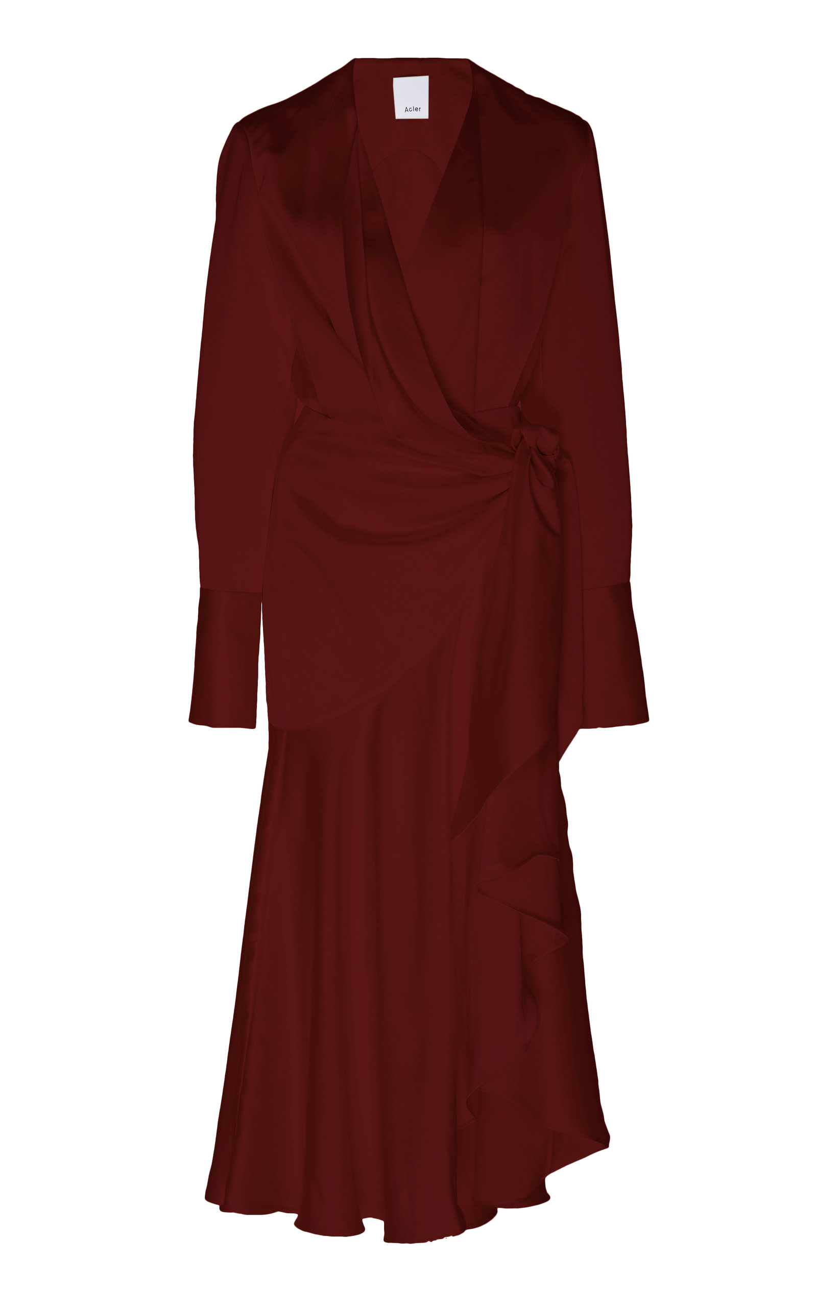 Buy Acler Loftin Draped Wrap Dress online, shop Acler at the best price