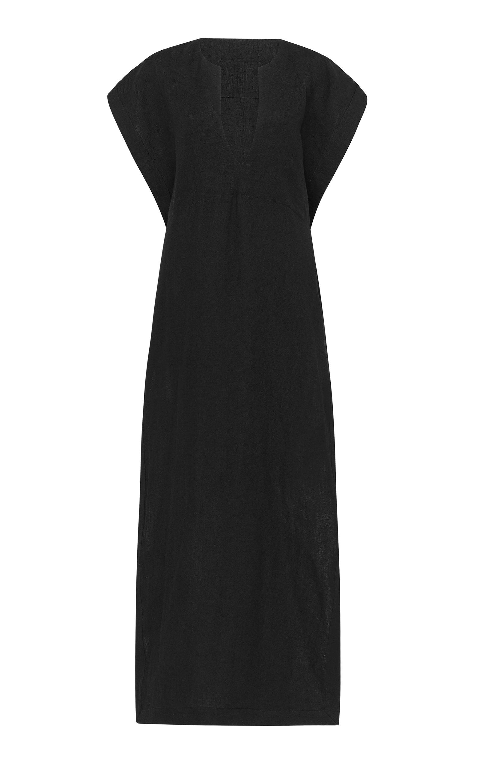 Buy Matteau Linen and Cotton-Blend Midi Dress online, shop Matteau at the best price