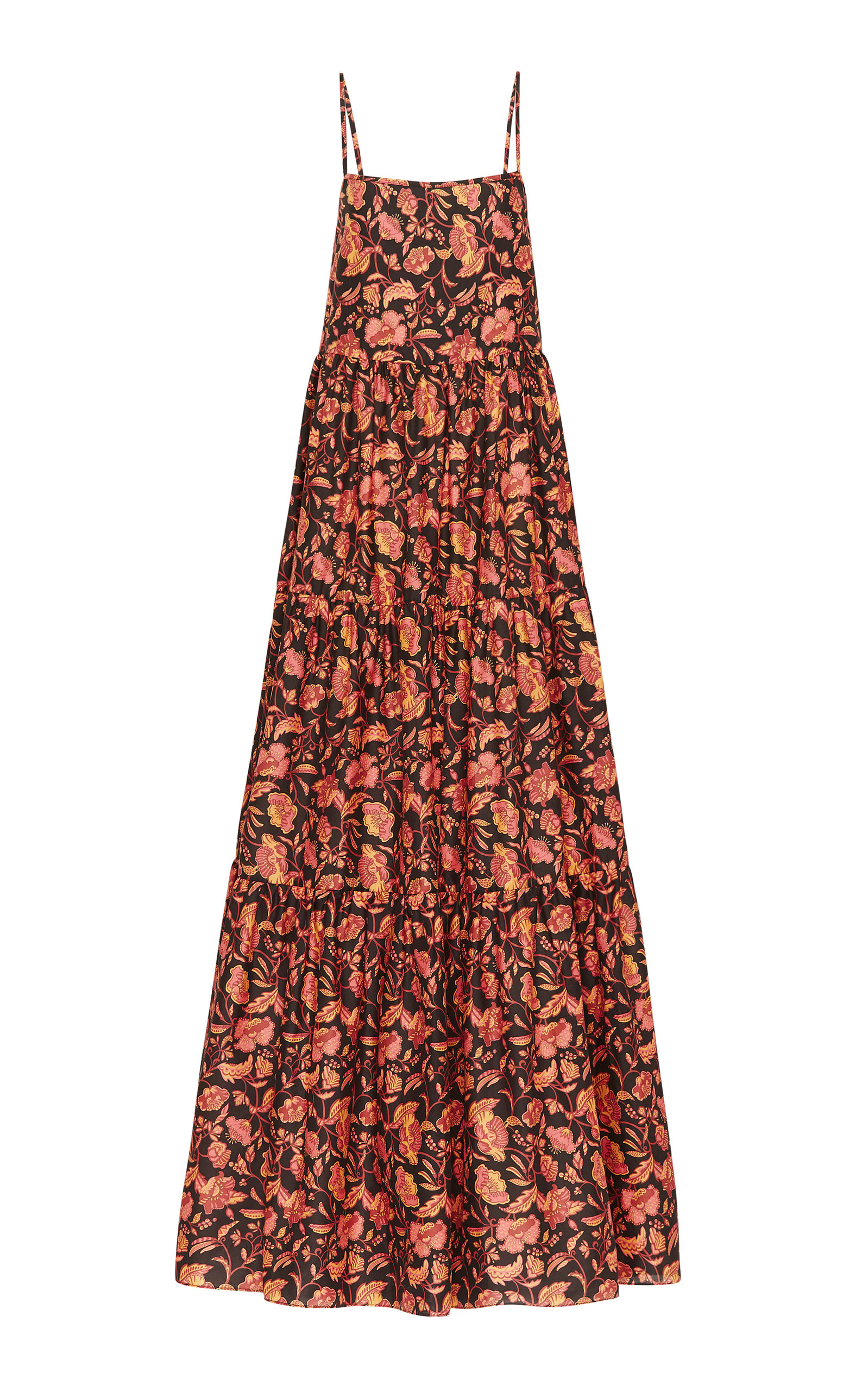 Buy Matteau Floral-Print Cotton-Poplin Maxi Dress online, shop Matteau at the best price