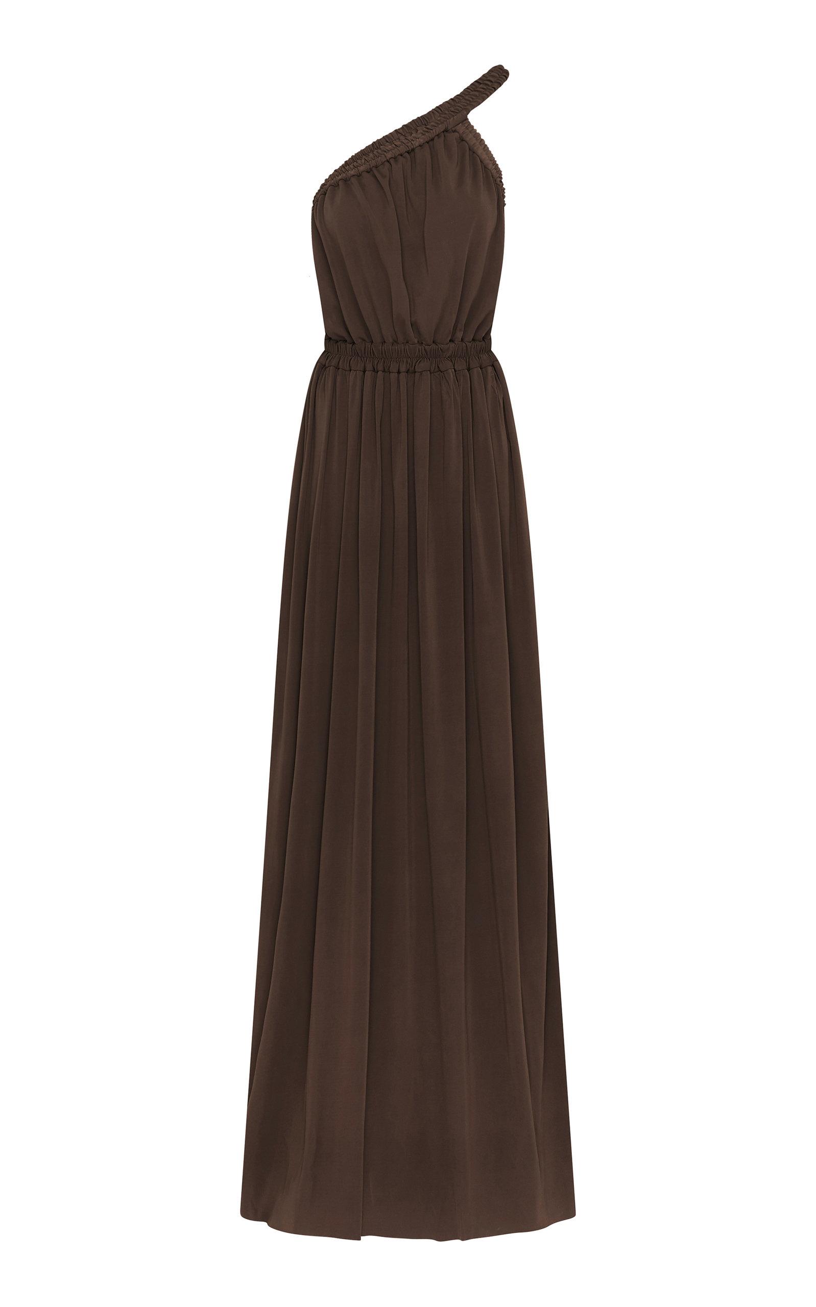 Buy Matteau Asymmetric Halter Jersey Maxi Dress online, shop Matteau at the best price