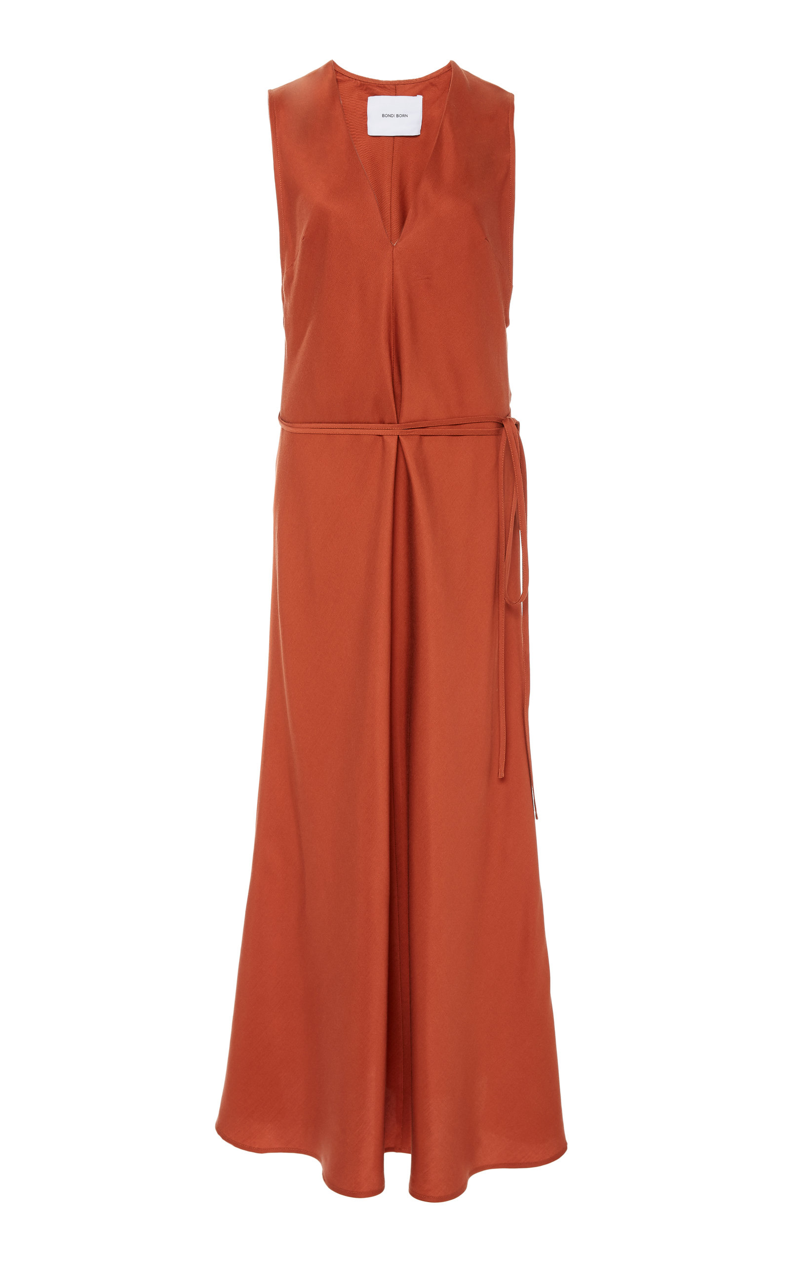 Buy Bondi Born Plunge Satin Maxi Dress online, shop Bondi Born at the best price