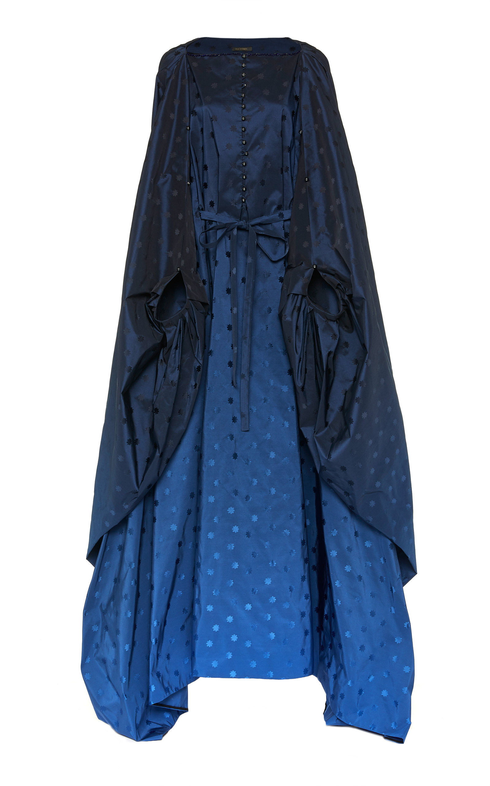 Buy Zac Posen Embroidered Ombré Dolman Sleeve Gown online, shop Zac Posen at the best price