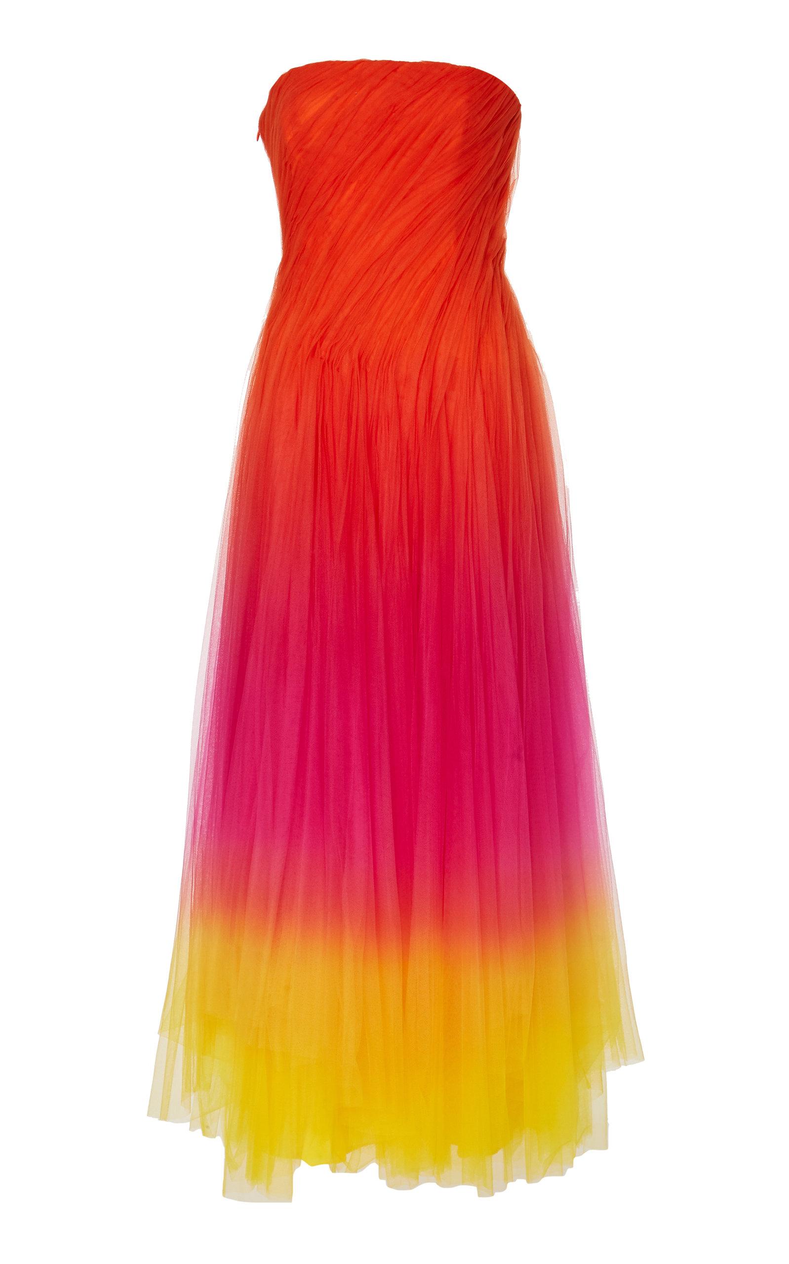 Buy Ralph Lauren Clementine Ombré Tulle Dress online, shop Ralph Lauren at the best price