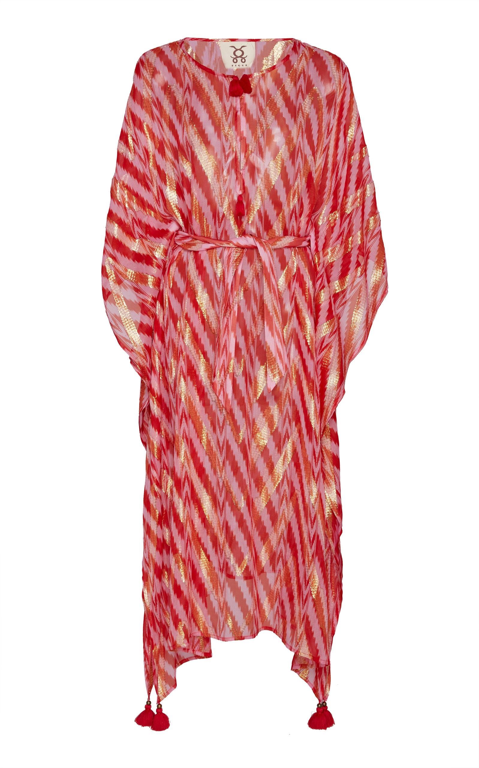 Buy Figue Fabrizi Silk Kaftan online, shop Figue at the best price