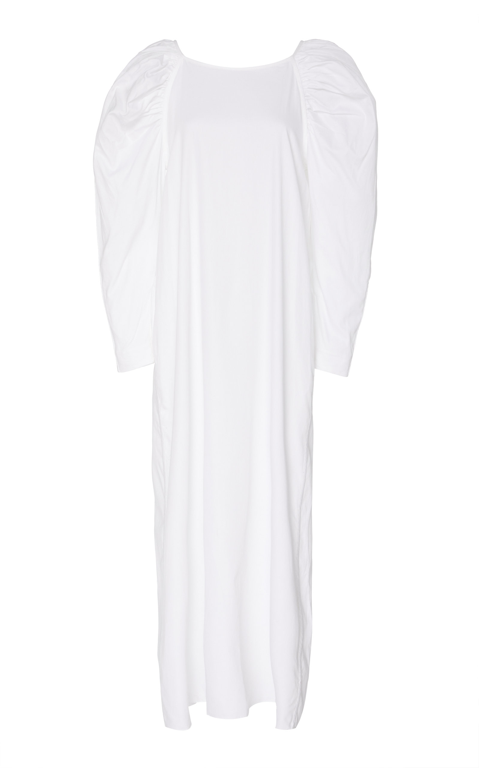 Buy Mara Hoffman Elisabetta Mutton Cotton Midi Dress online, shop Mara Hoffman at the best price