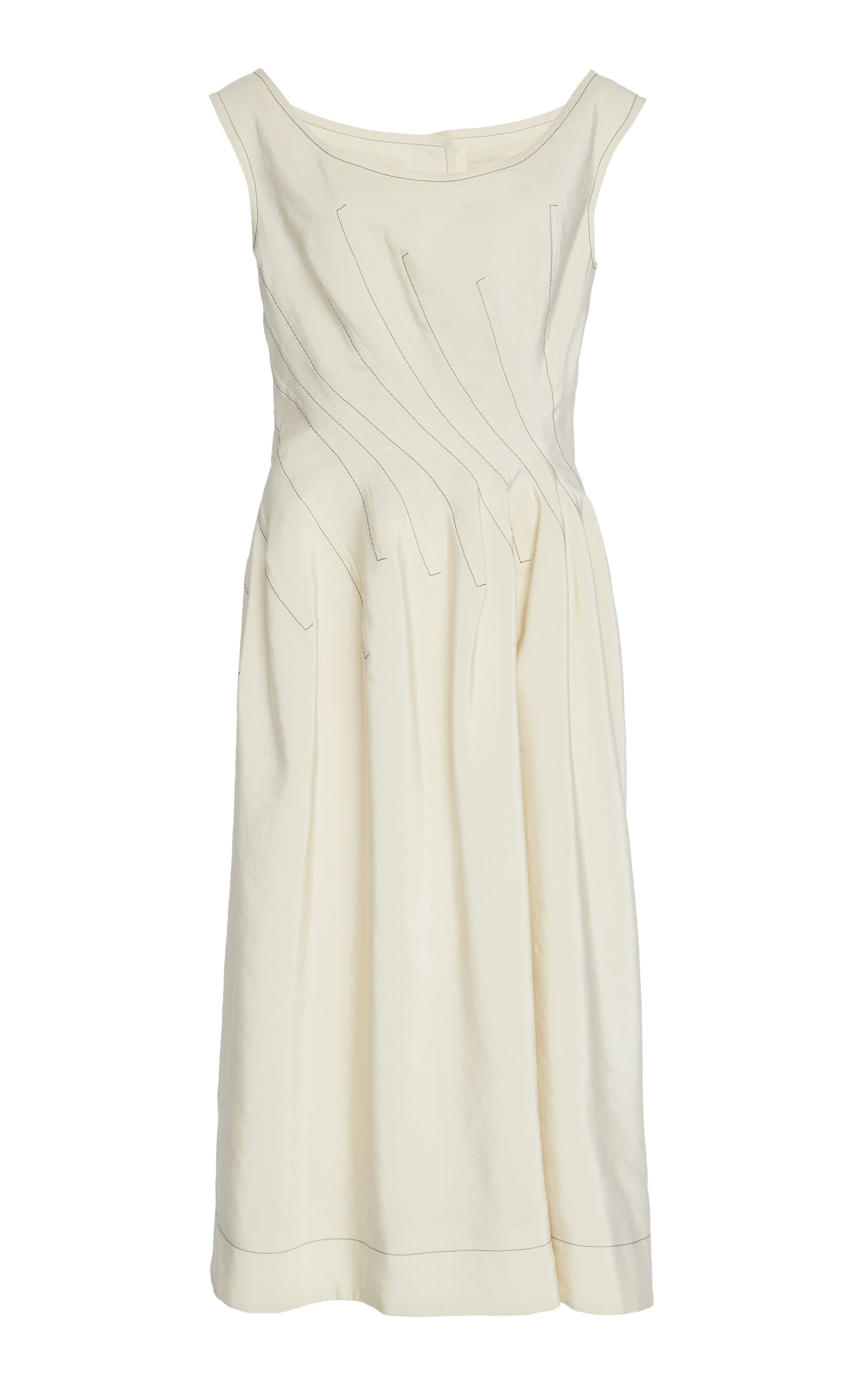 Buy Marni Contrast Stitch Dress online, shop Marni at the best price