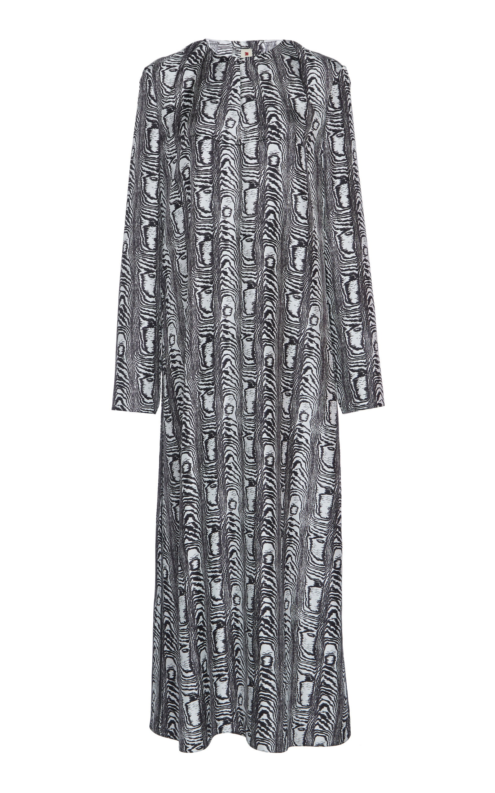 Buy Marni Printed Silk Midi Dress online, shop Marni at the best price