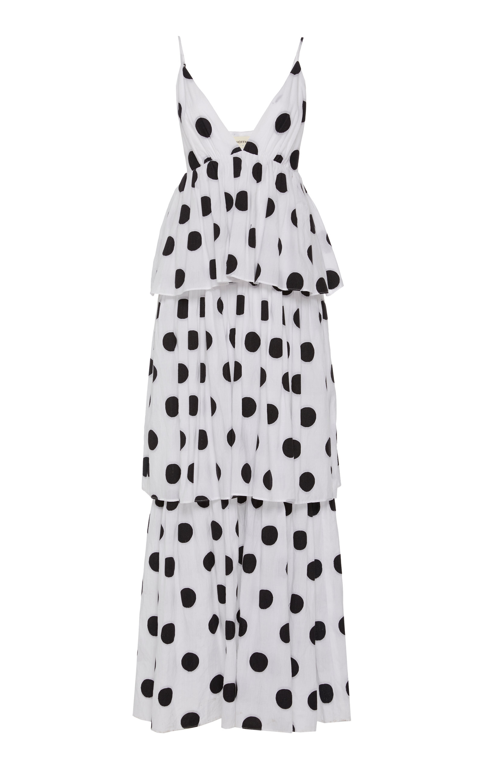 Buy Mara Hoffman Bari Polka Dot Cotton-Poplin Maxi Dress online, shop Mara Hoffman at the best price